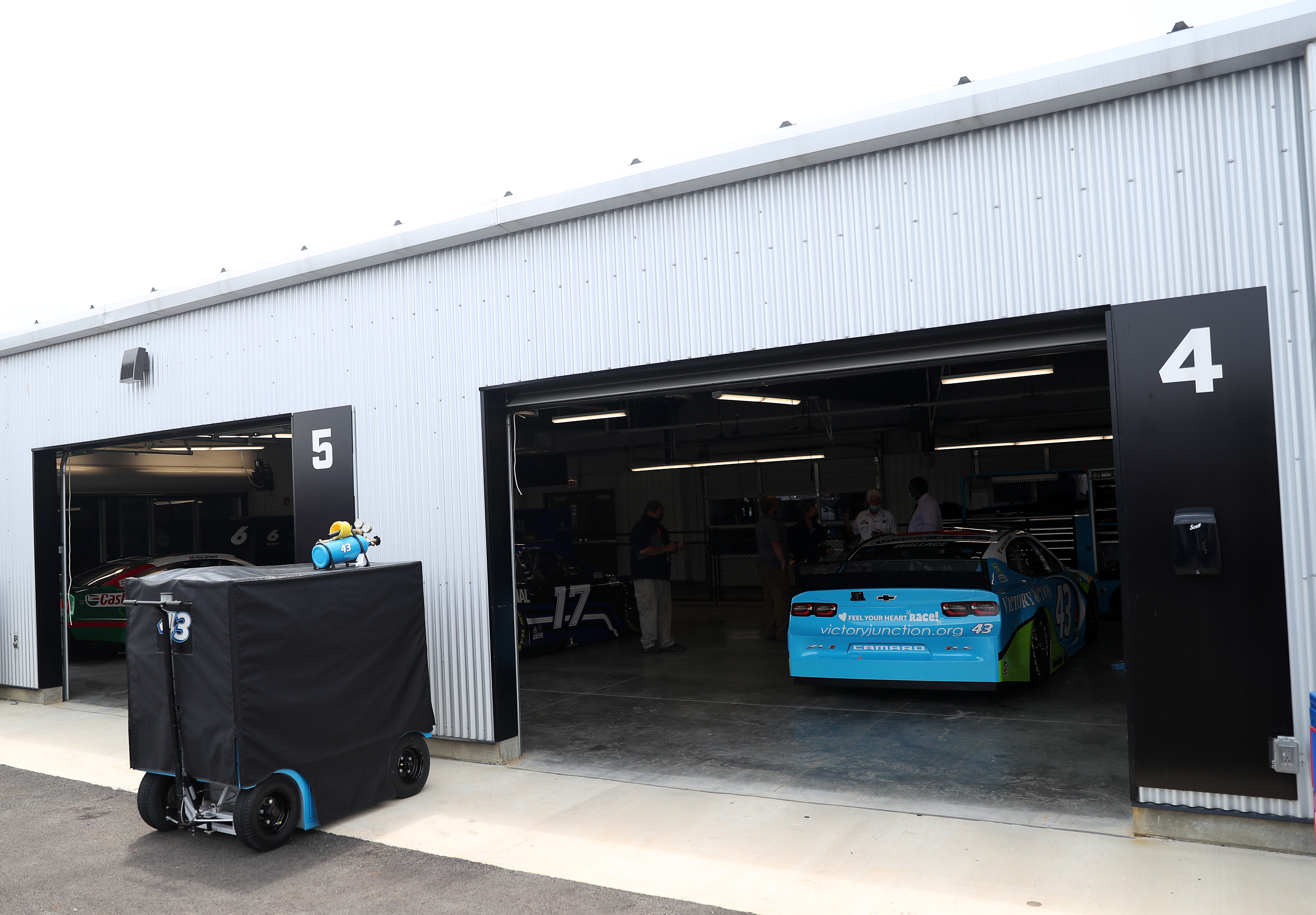 Bubba Wallace Richard Petty Motorsports NASCAR garage Talladega 2020