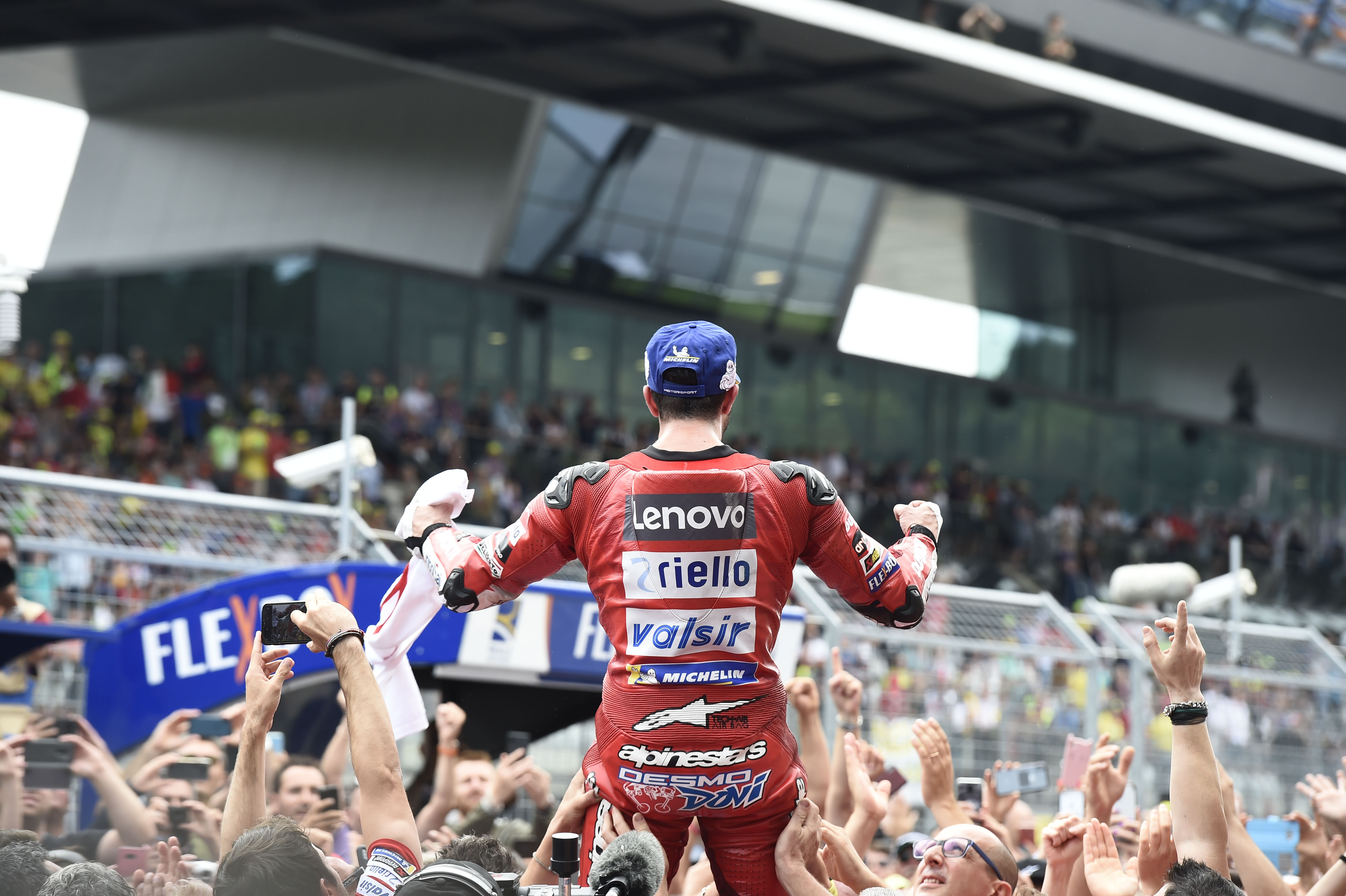 Andrea Dovizioso wins Austria MotoGP 2019