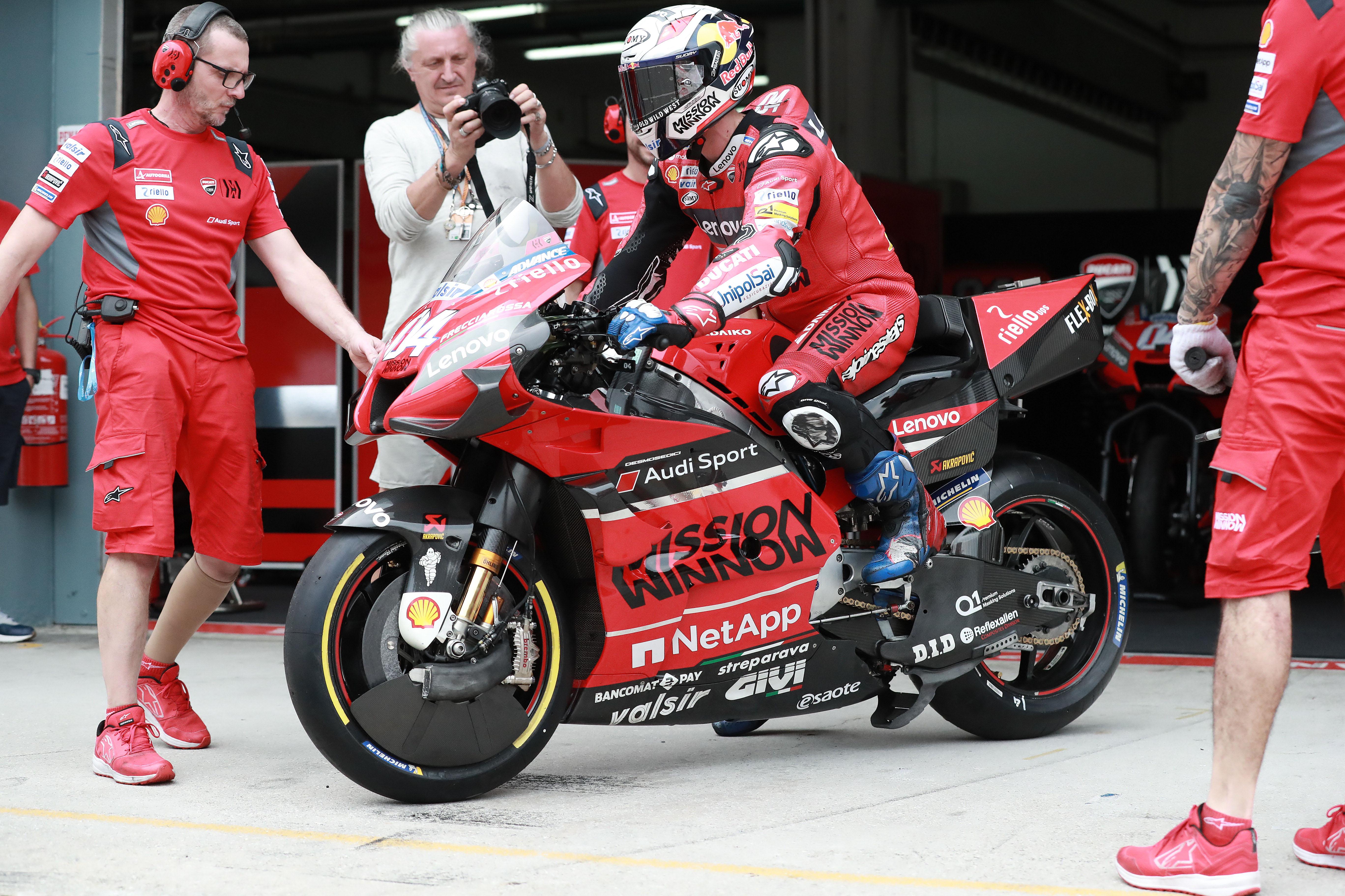 Andrea Dovizioso Ducati Sepang MotoGP test 2020