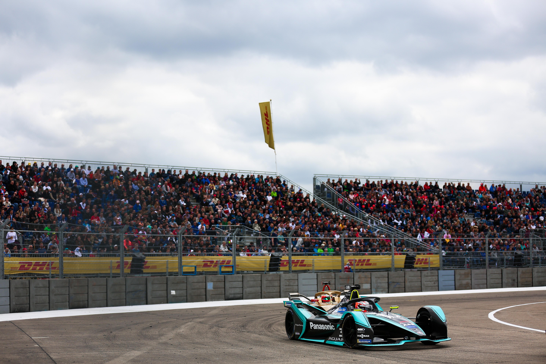 Alex Lynn Jaguar Berlin Formula E 2019
