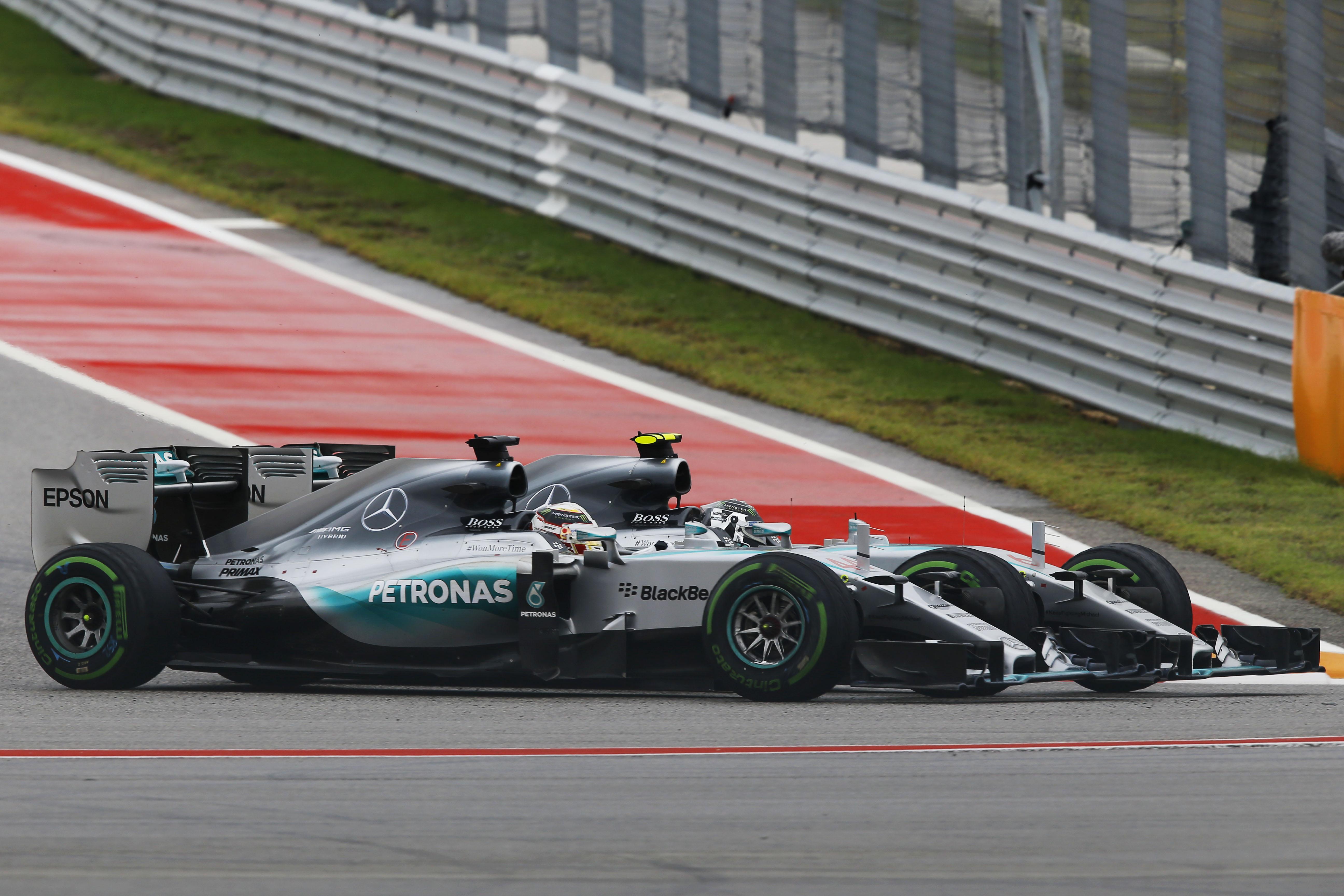 Motor Racing Formula One World Championship United States Grand Prix Race Day Austin, Usa