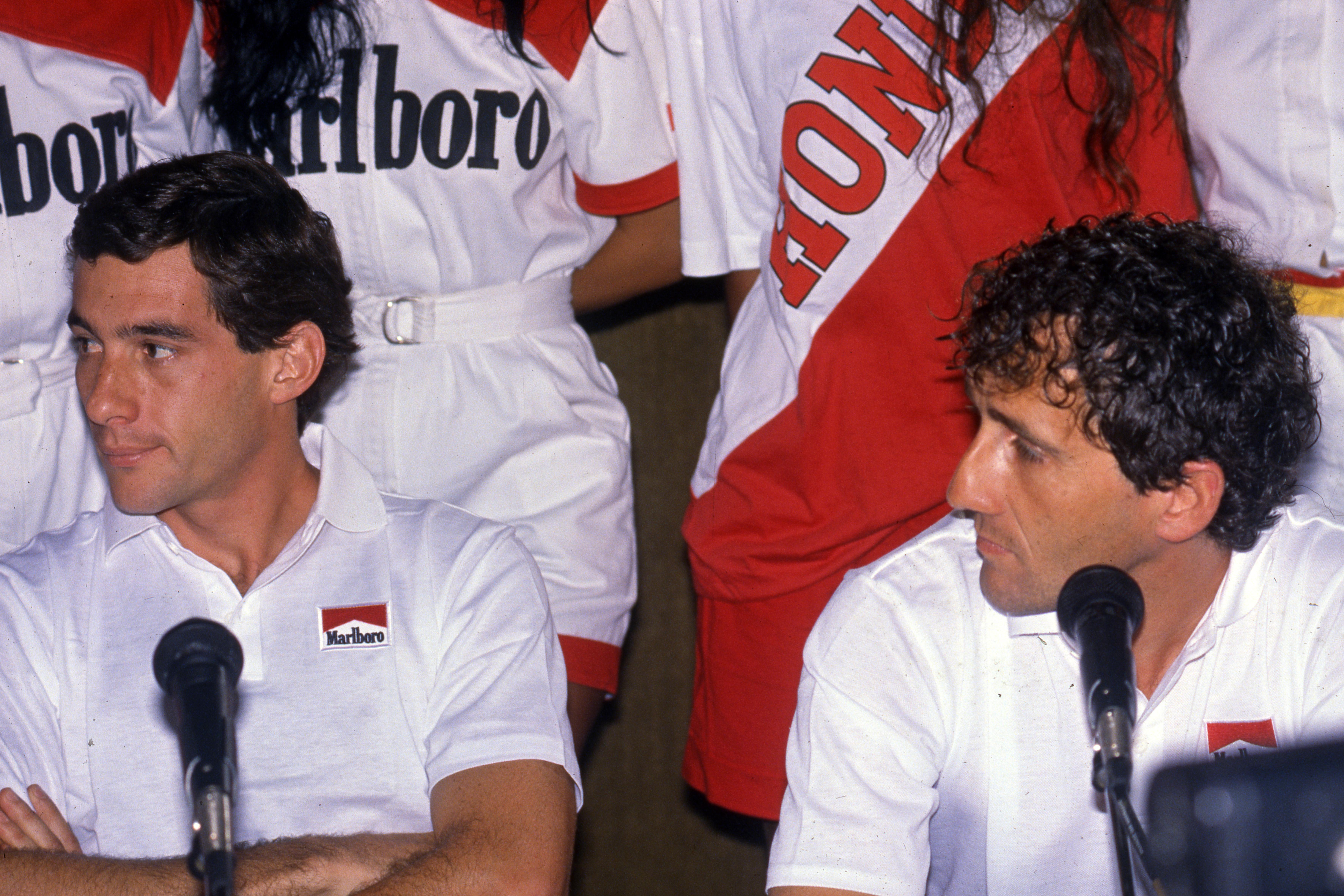 Ayrton Senna Alain Prost 1989