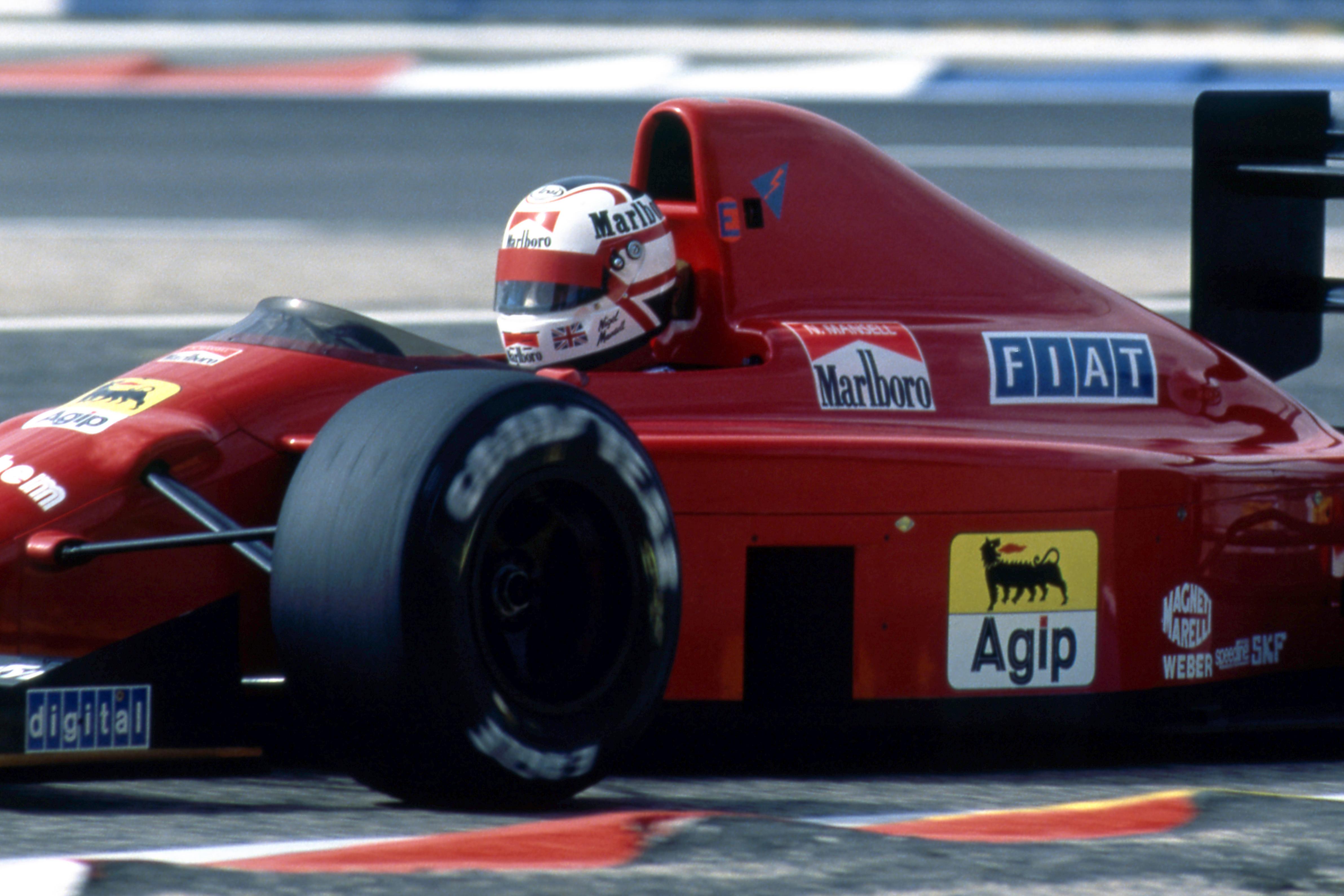 Nigel Mansell Ferrari 1989