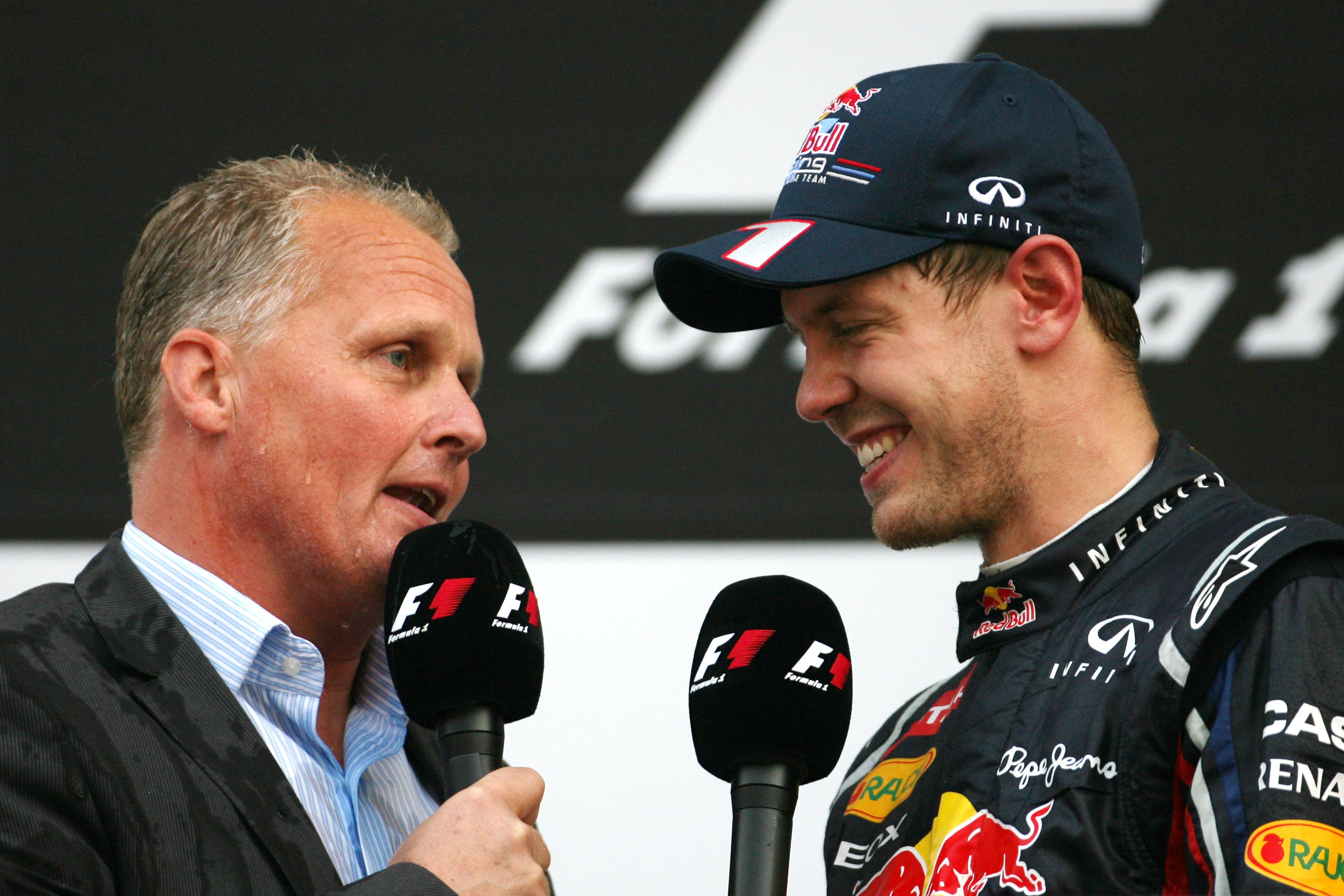 Sebastian Vettel Johnny Herbert F1 2020