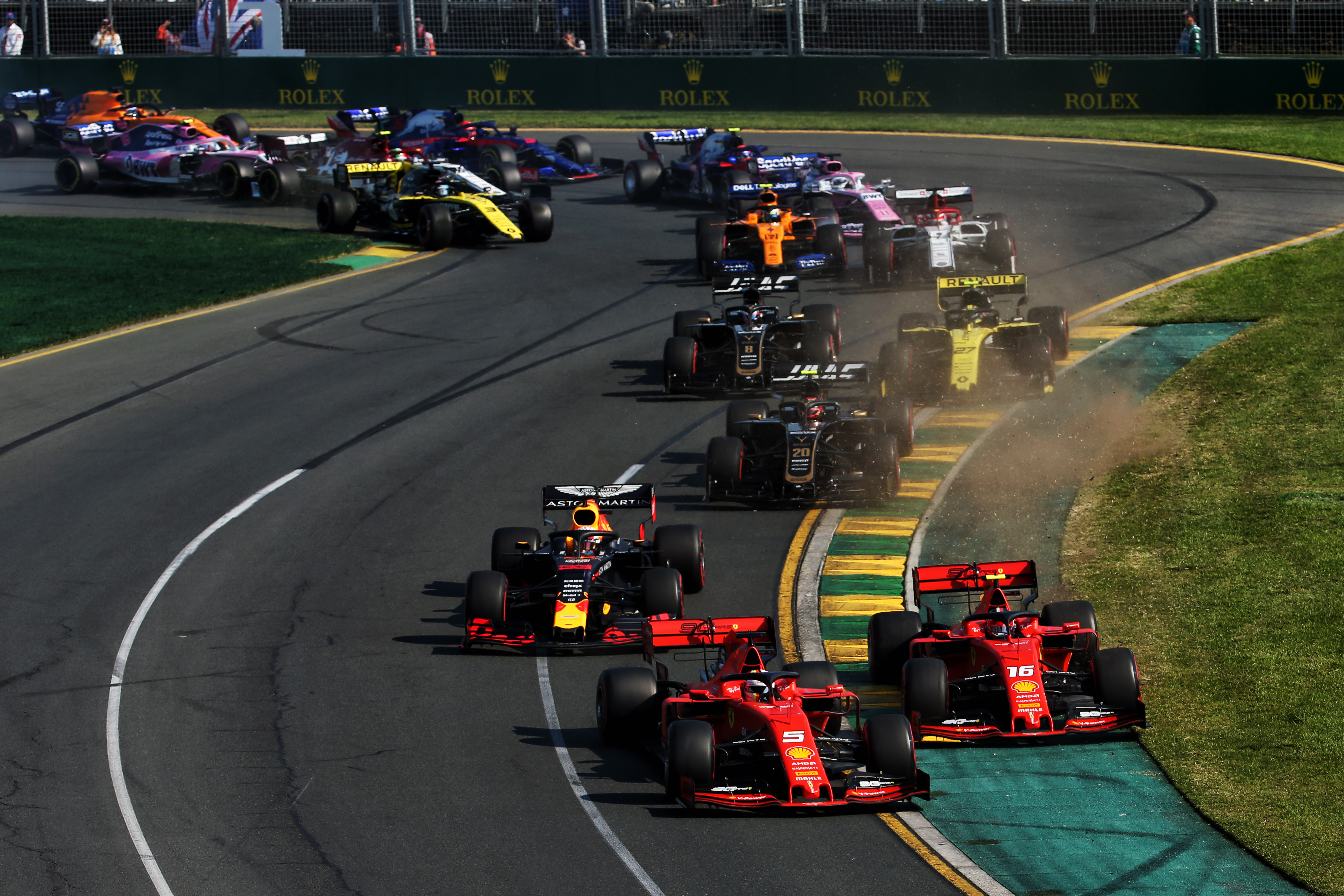 Motor Racing Formula One World Championship Australian Grand Prix Race Day Melbourne, Australia
