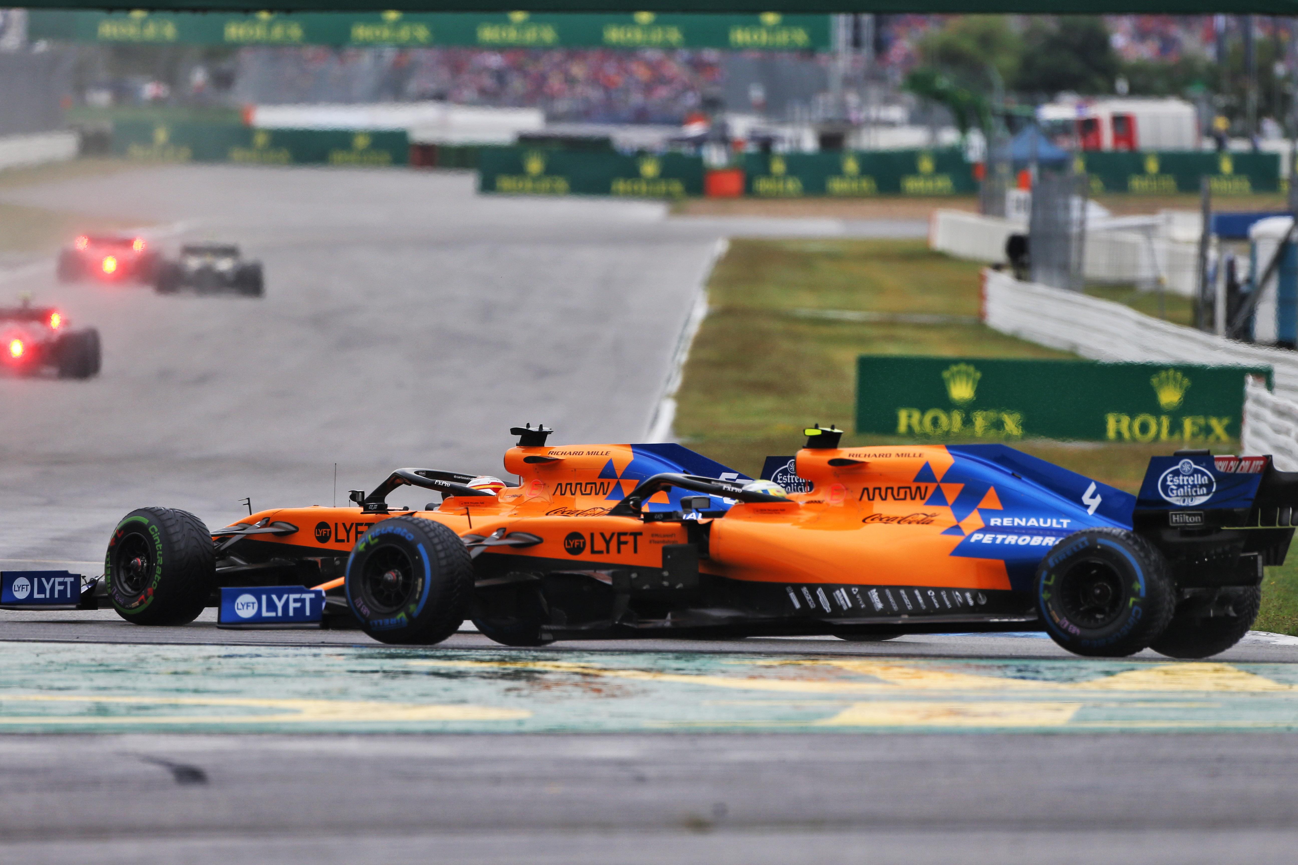 Motor Racing Formula One World Championship German Grand Prix Race Day Hockenheim, Germany