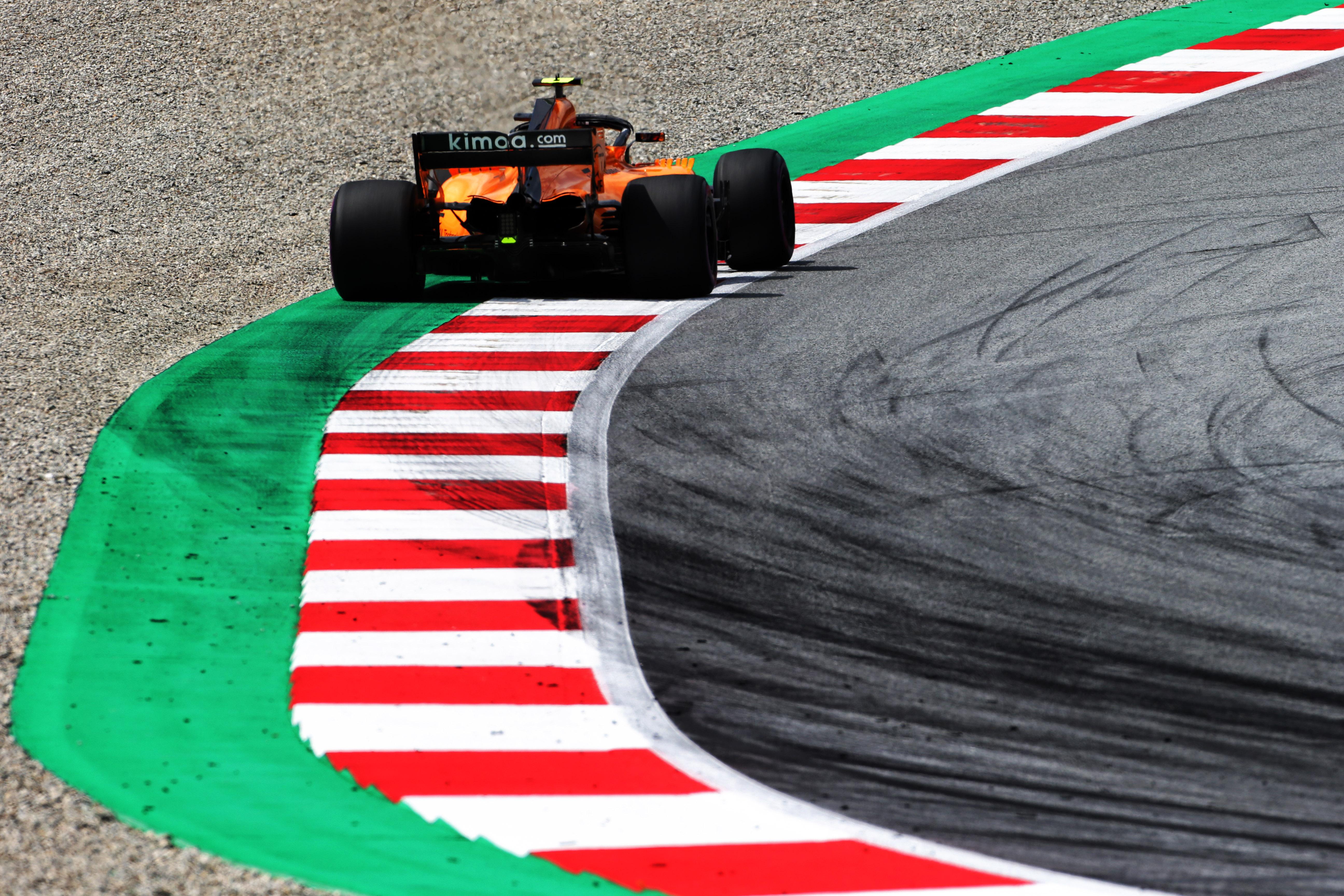 Stoffel Vandoorne McLaren Austrian Grand Prix 2018