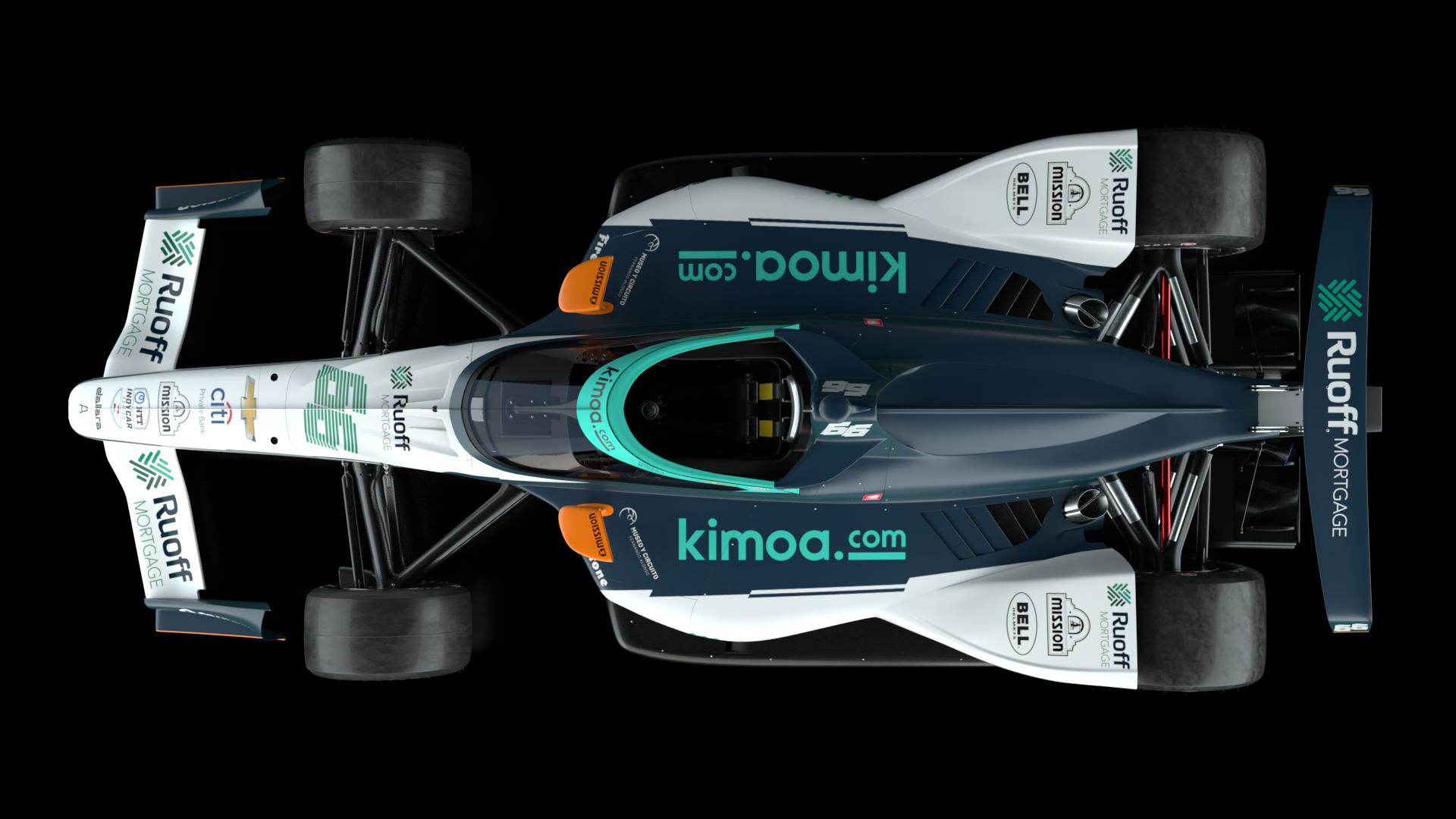 Fernando Alonso Indy 500 livery