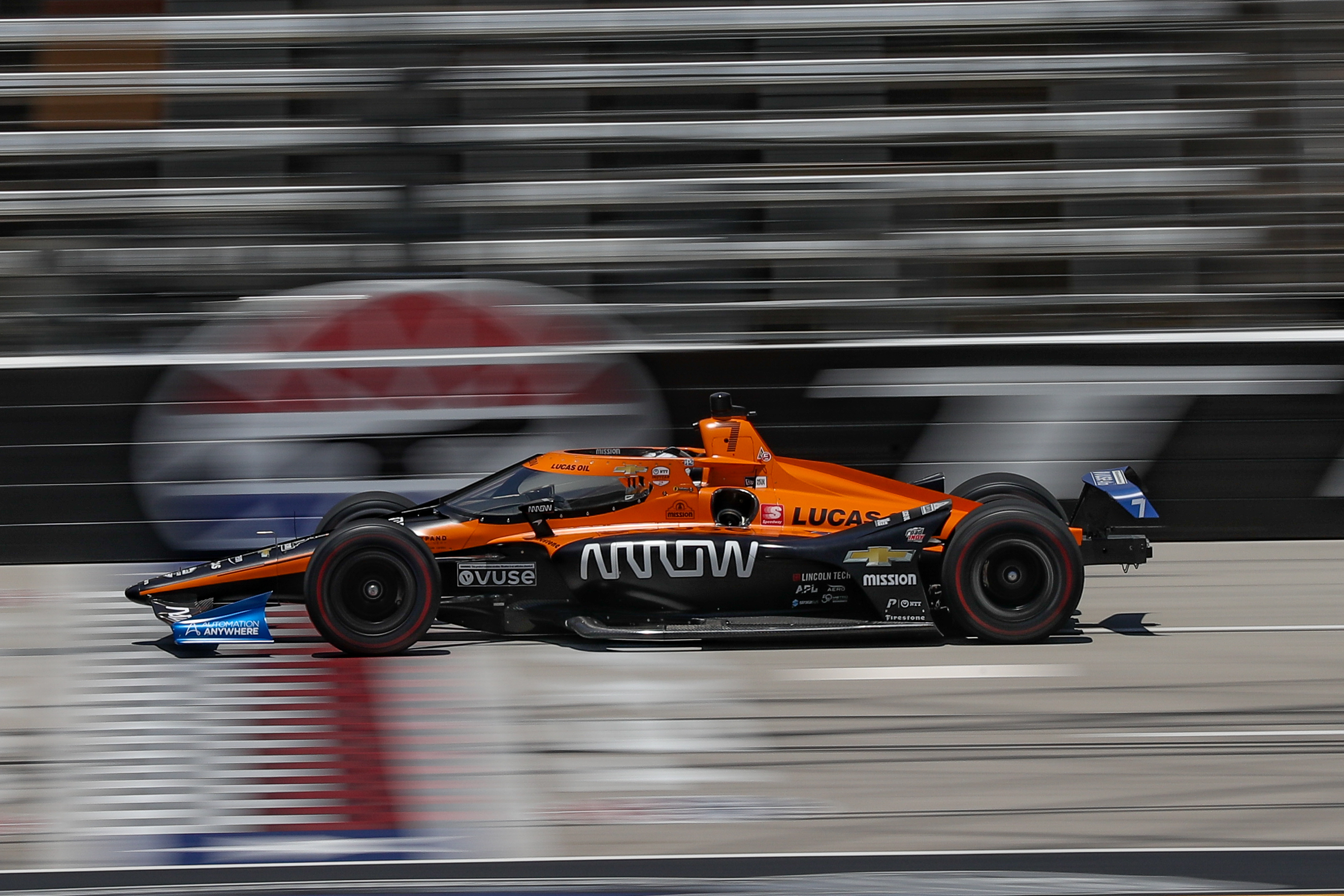Oliver Askew Arrow McLaren SP Texas IndyCar 2020