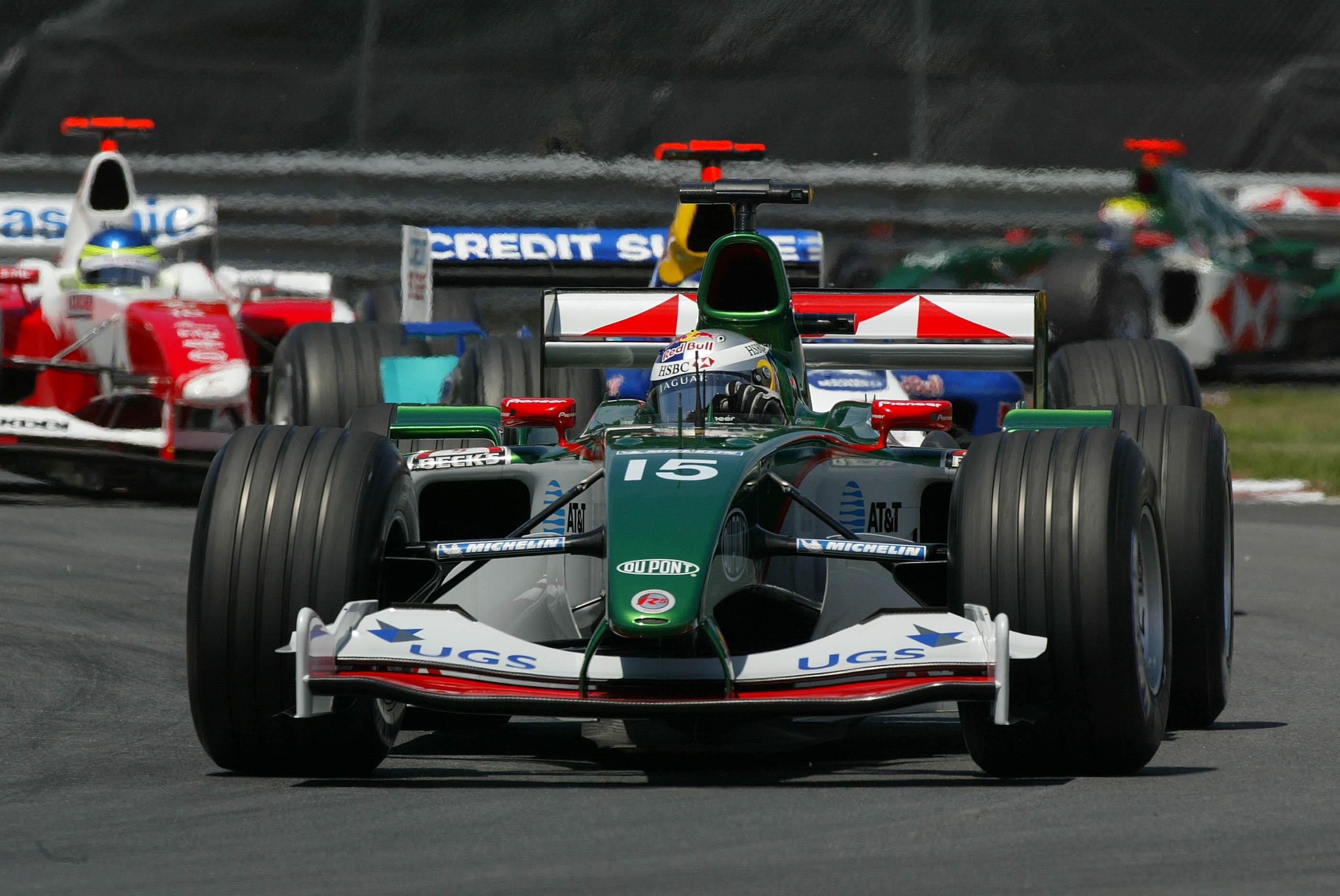 Christian Klien Jaguar Canadian Grand Prix 2004