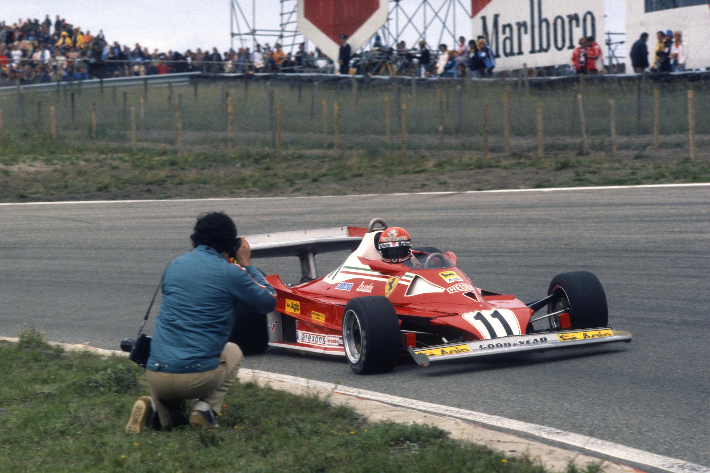 Niki Lauda Ferrari Japanese Grand Prix 1977
