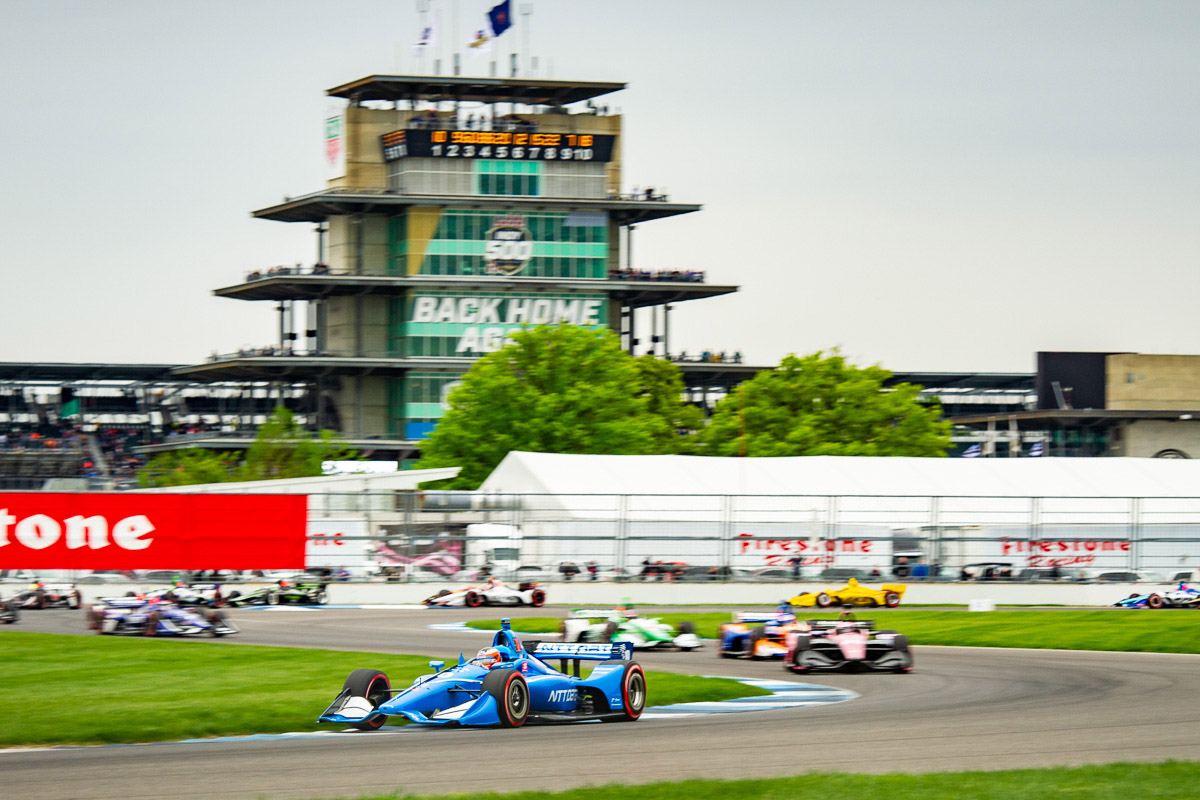 Felix Rosenqvist Ganassi Indianapolis road course IndyCar 2019