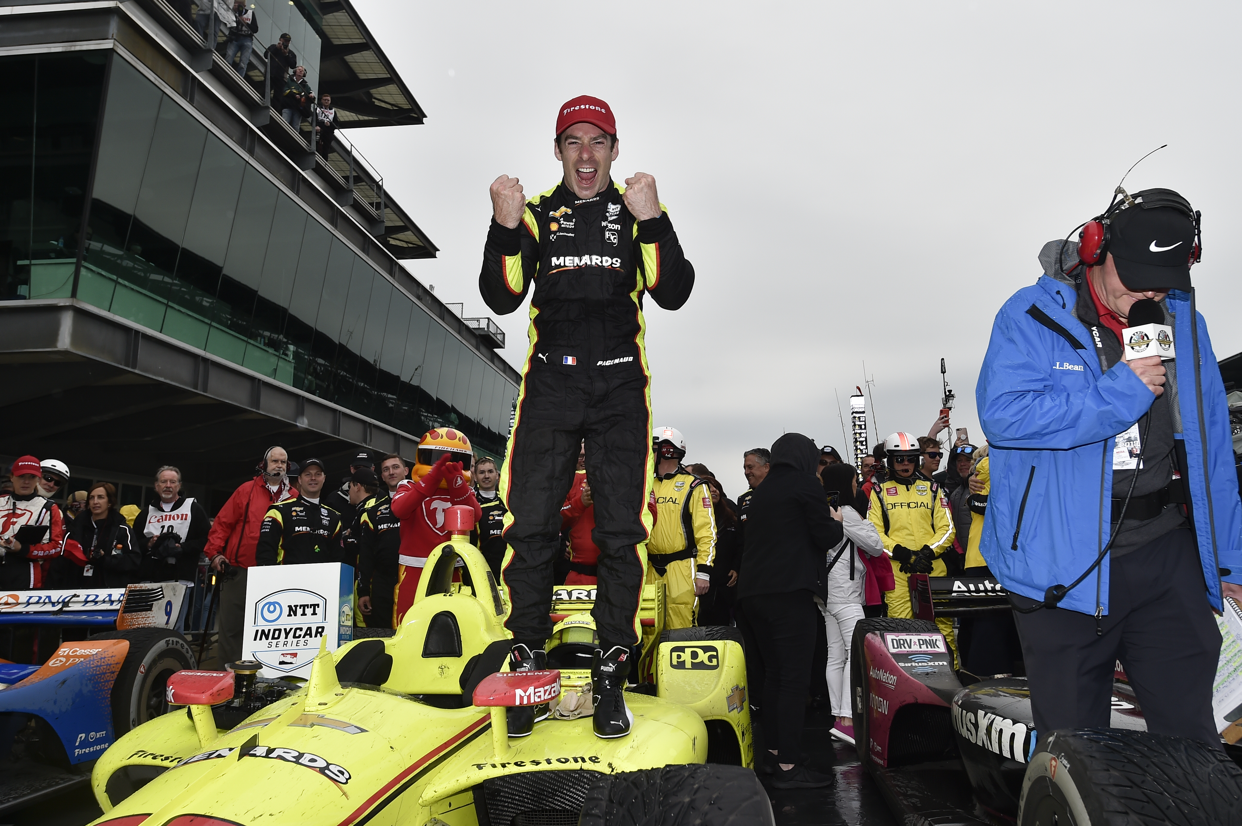 Simon Pagenaud wins Indianapolis road course 2019