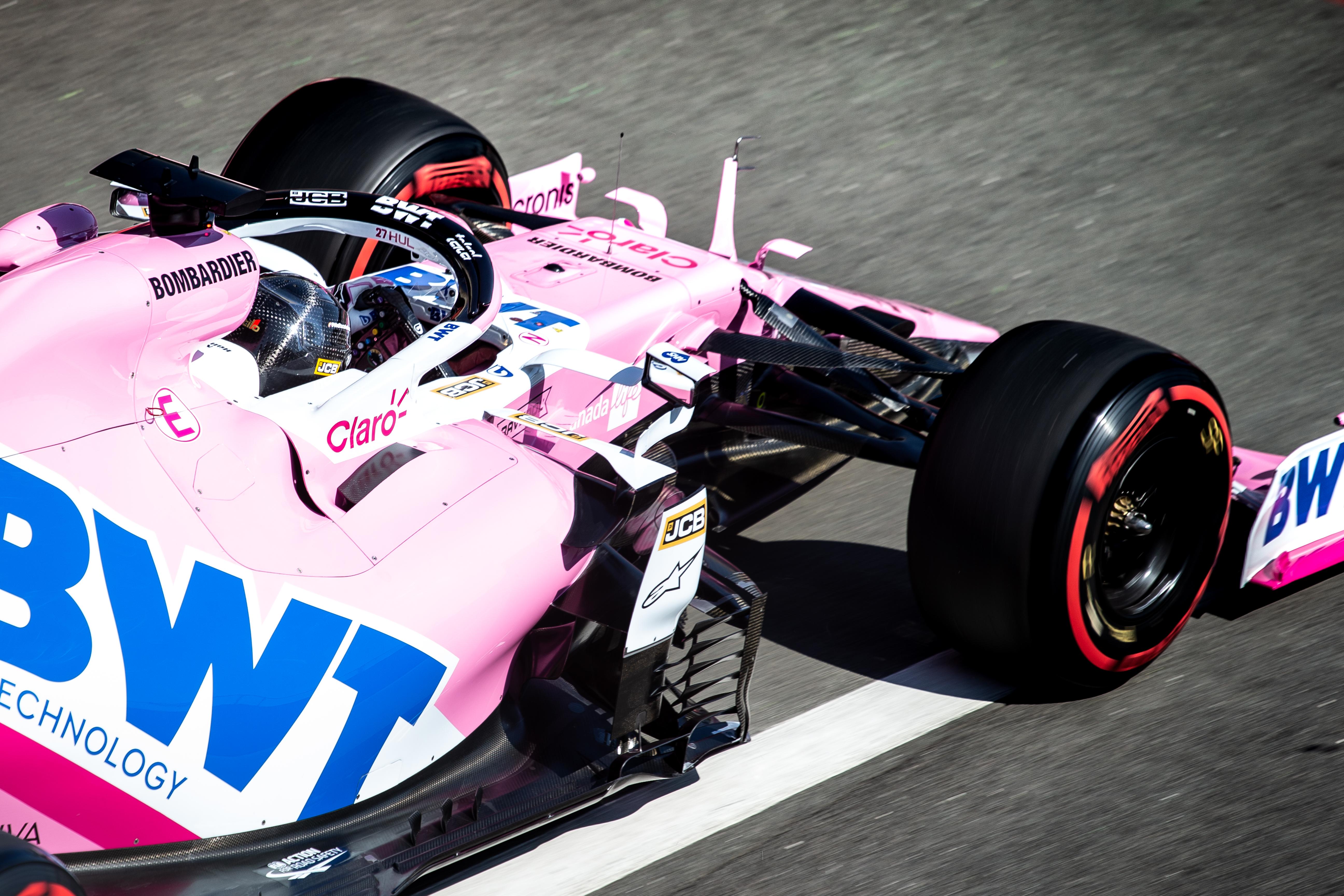 Nico Hulkenberg Racing Point British Grand Prix practice 2020
