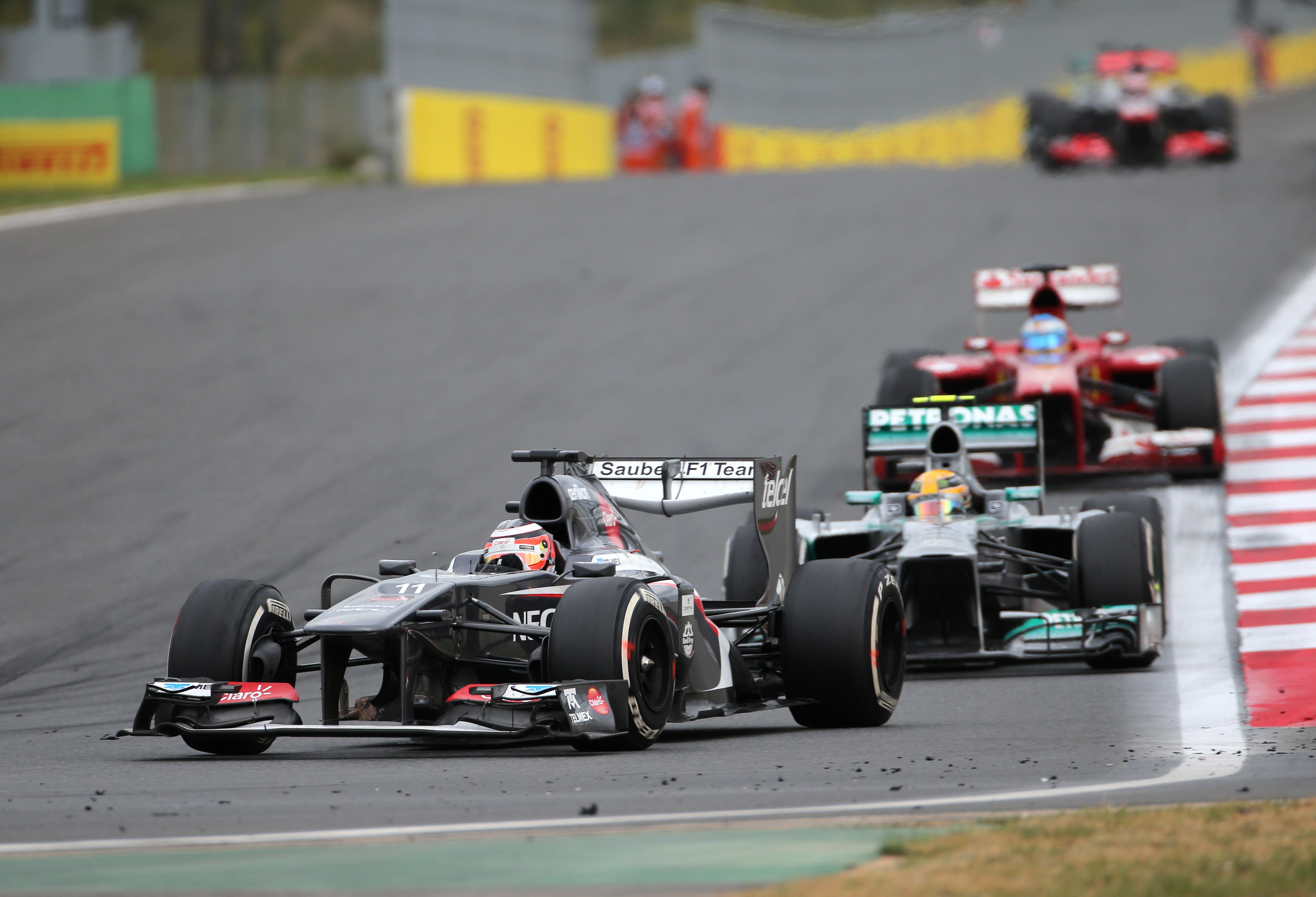 Nico Hulkenberg Sauber Korean Grand Prix 2013