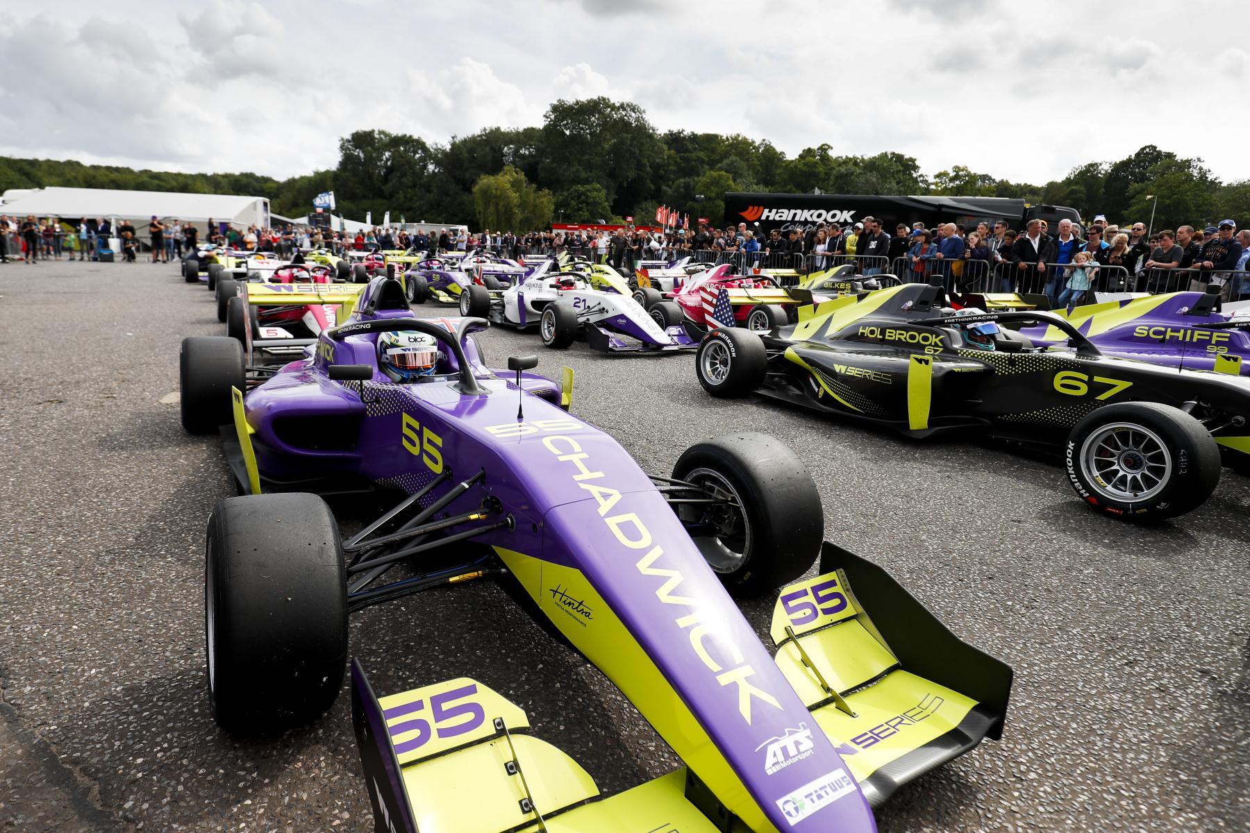 W Series Brands Hatch 2019