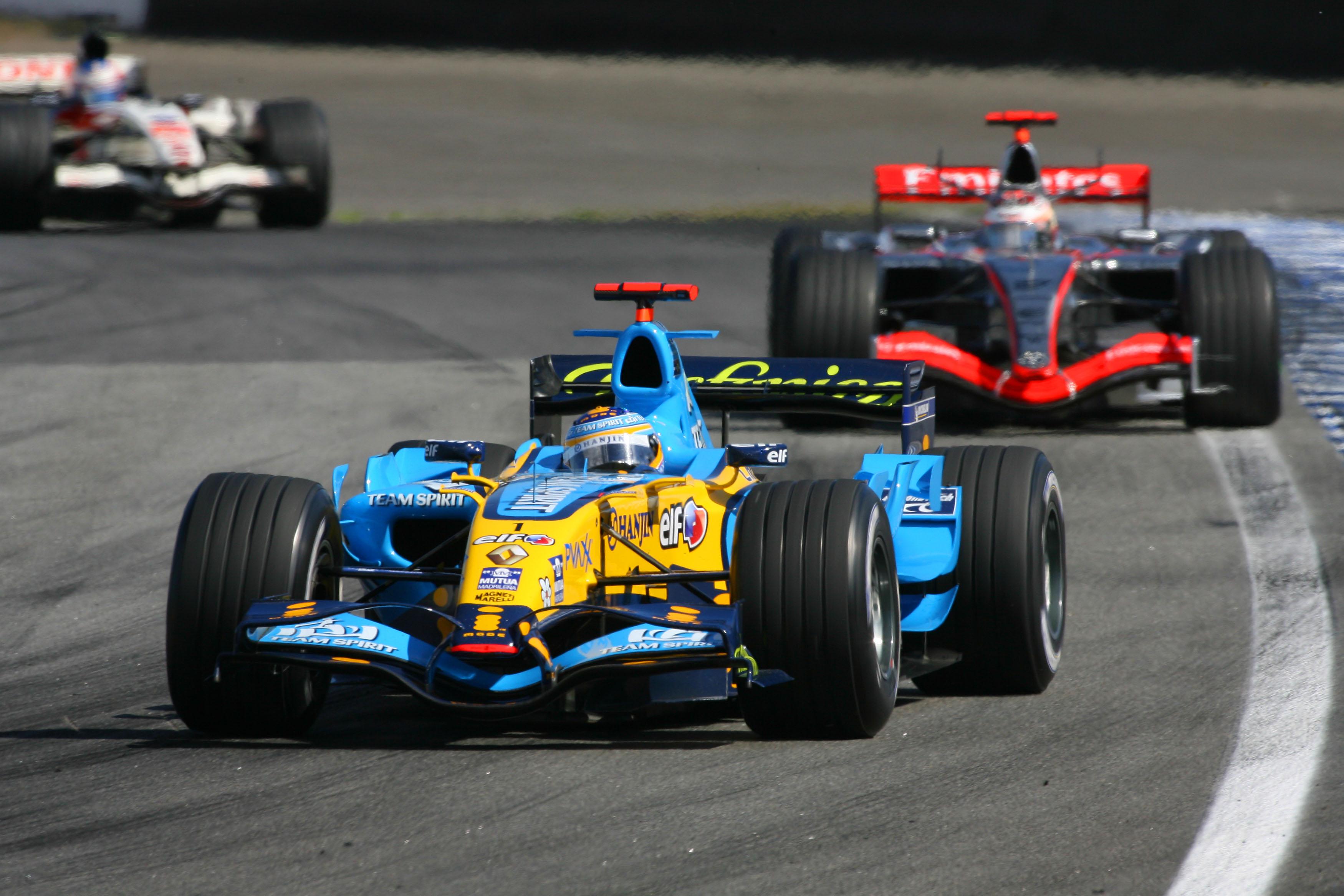 Fernando Alonso Renault Brazilian Grand Prix 2006