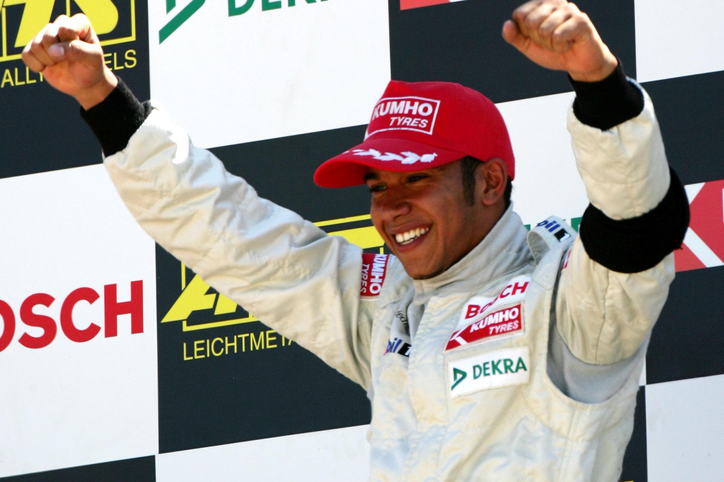 Lewis Hamilton 2004