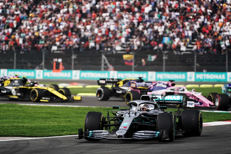 Lewis Hamilton Mercedes Mexican Grand Prix 2019