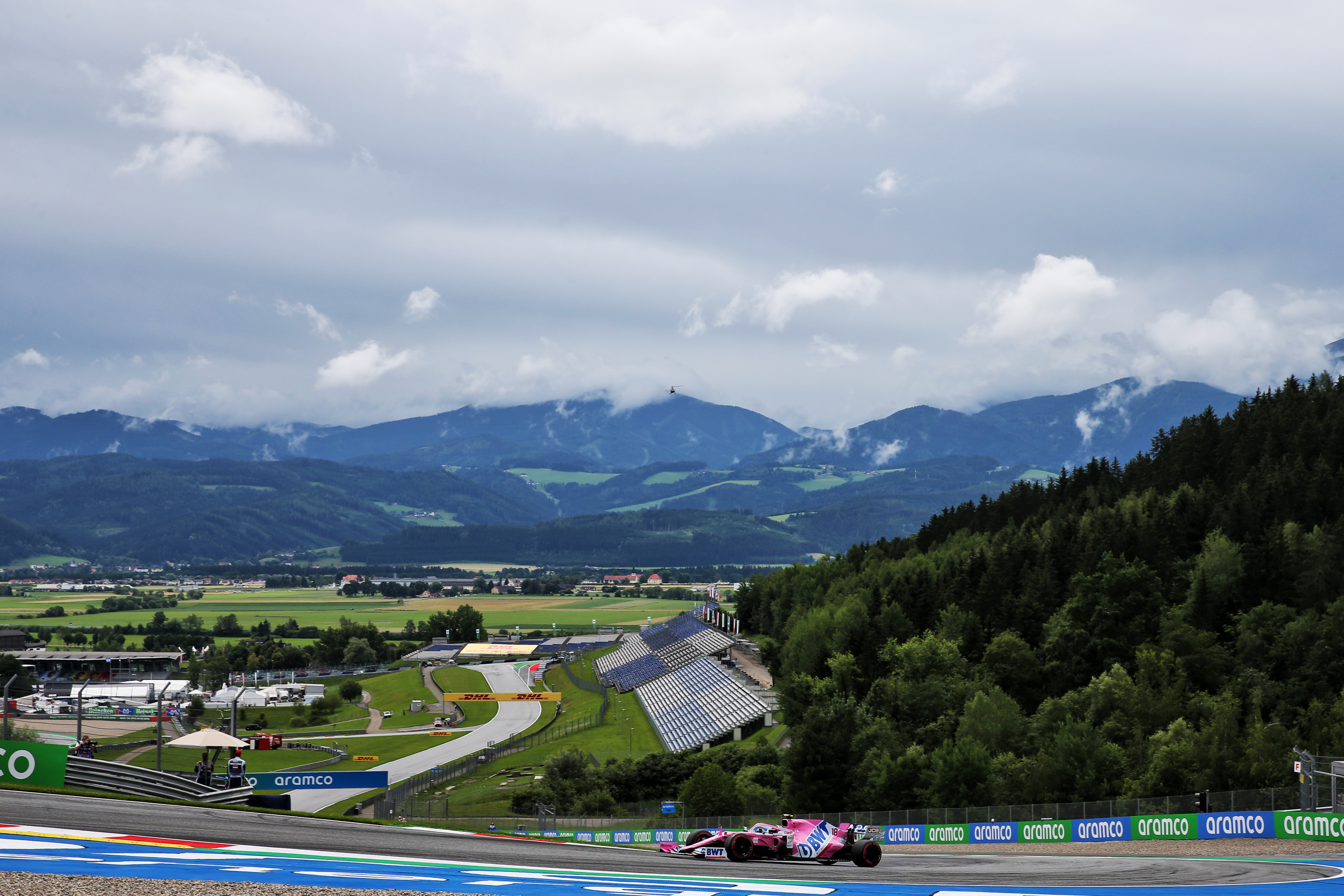 Lance Stroll Racing Point Austrian Grand Prix 2020