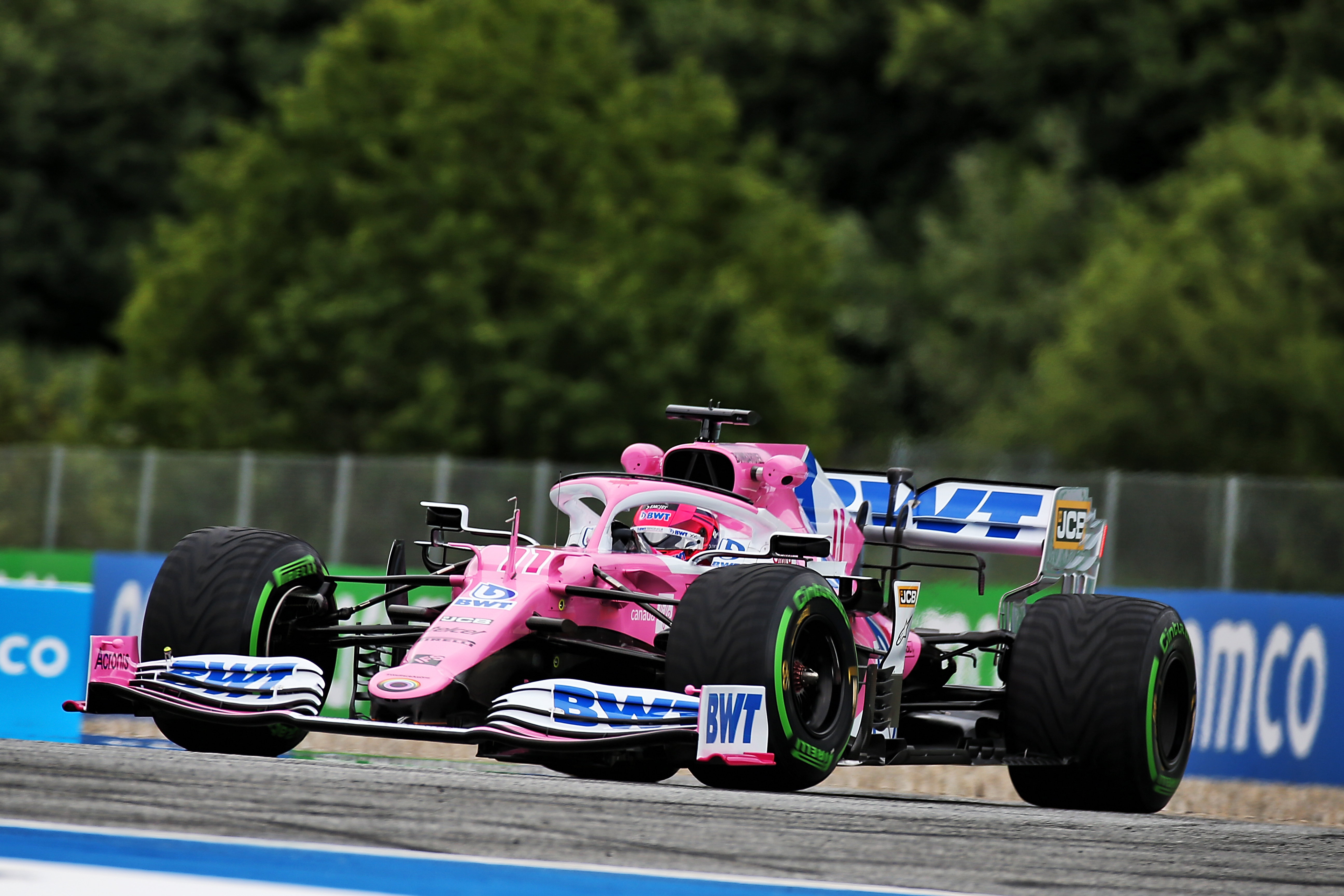 Sergio Perez Racing Point Austrian Grand Prix 2020