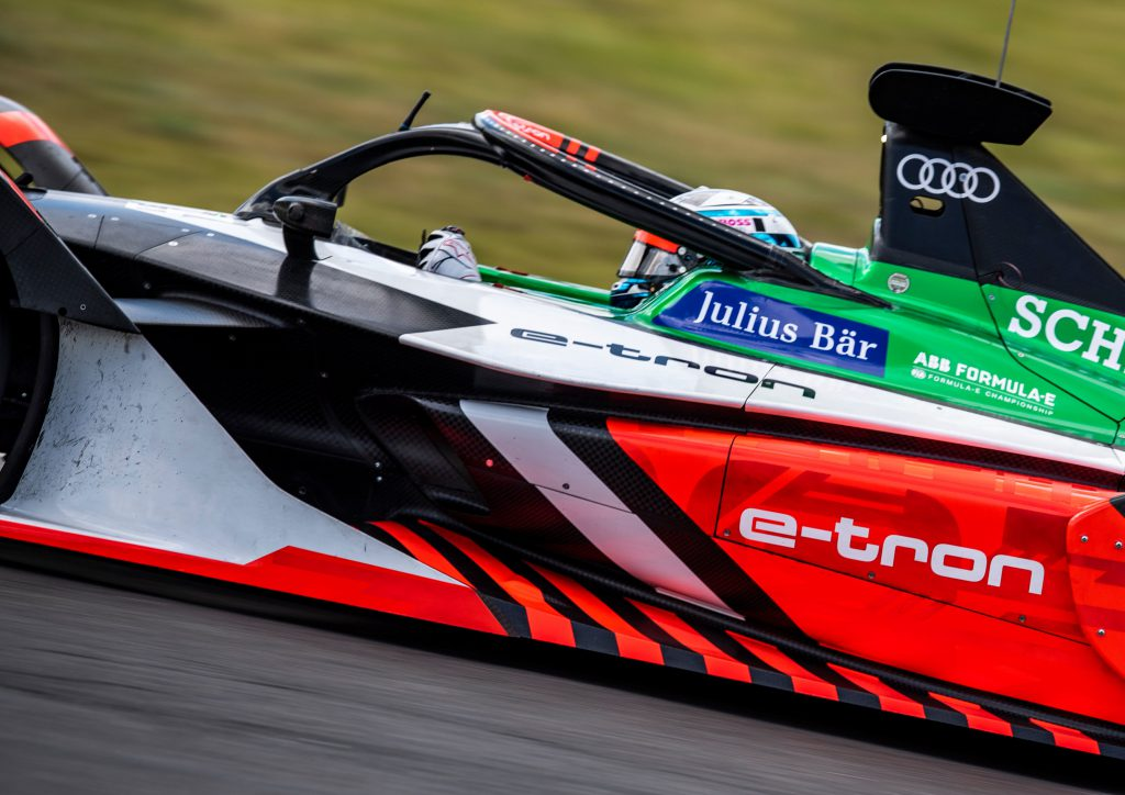 Rast 'thrown in at the deep end' in Berlin Audi call-up - The Race