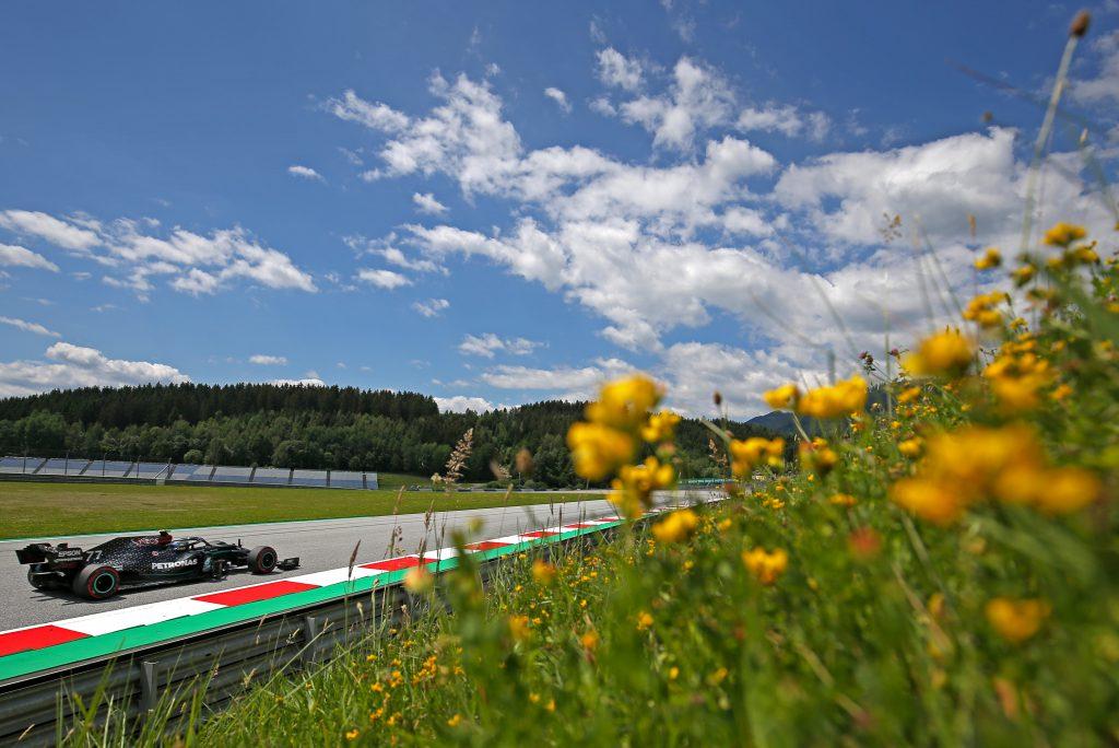 Bottas takes Austria pole despite going off, Vettel out in Q2 - The Race