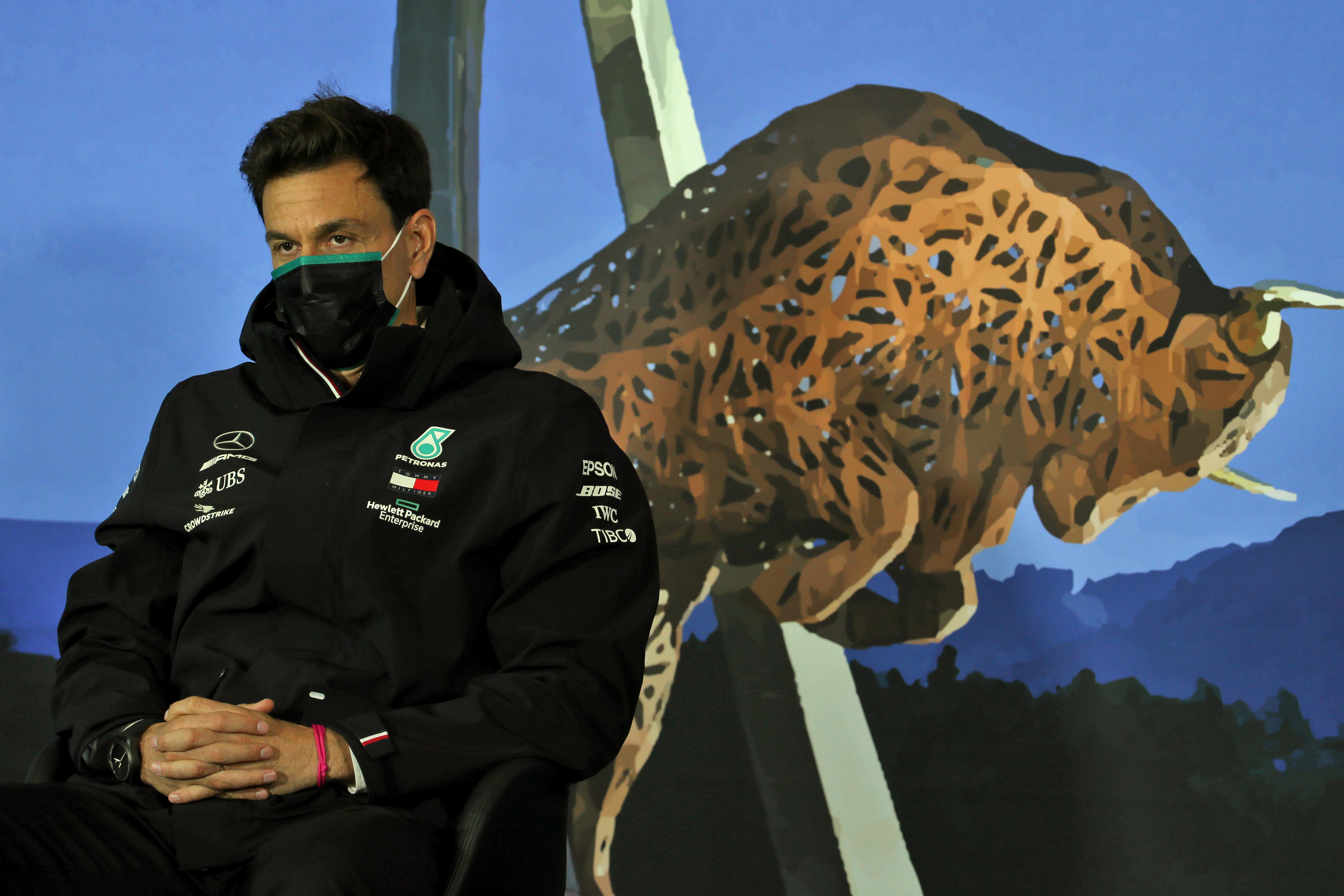 Toto Wolff Mercedes F1 Austria 2020