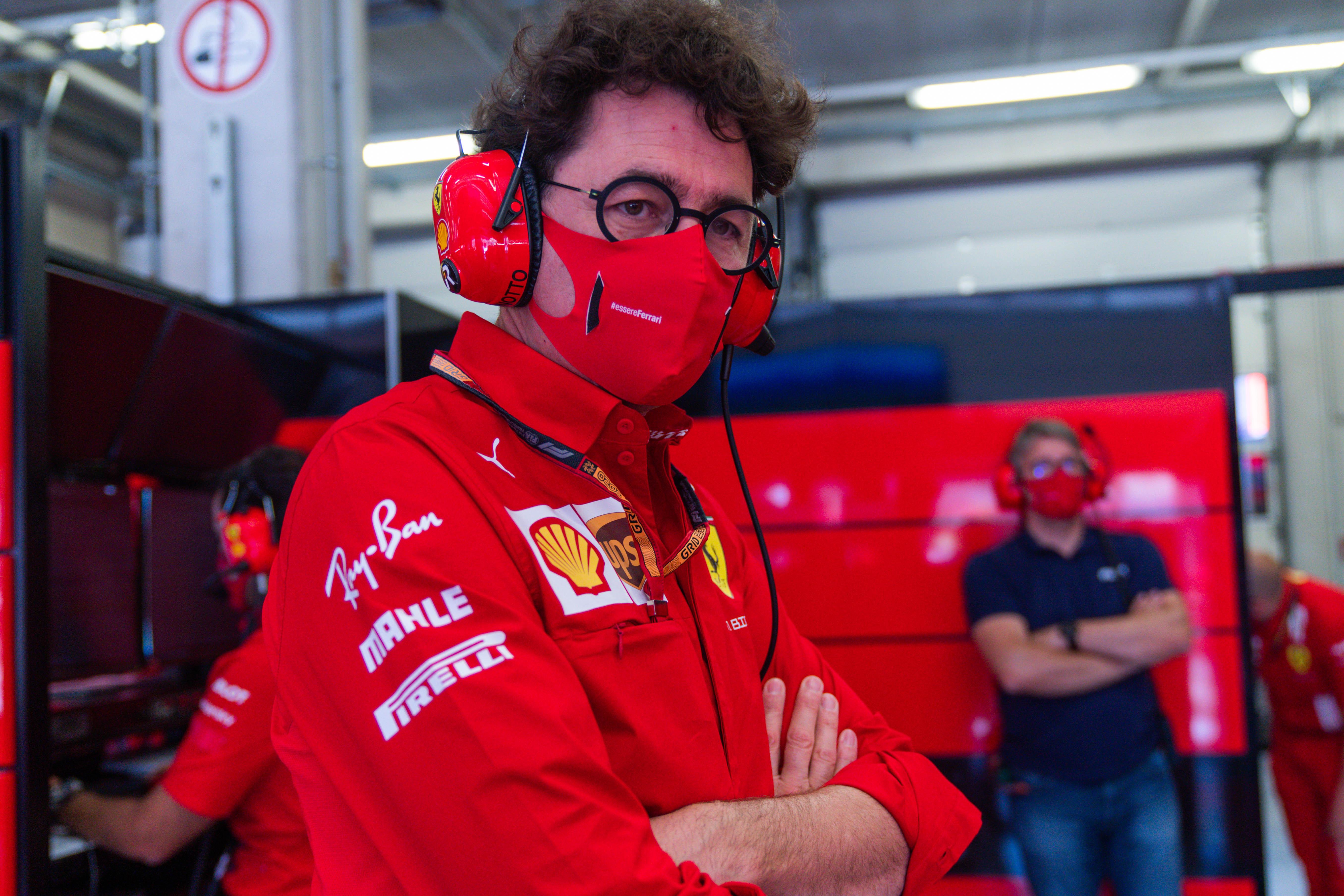 Mattia Binotto Ferrari F1 Austria 2020