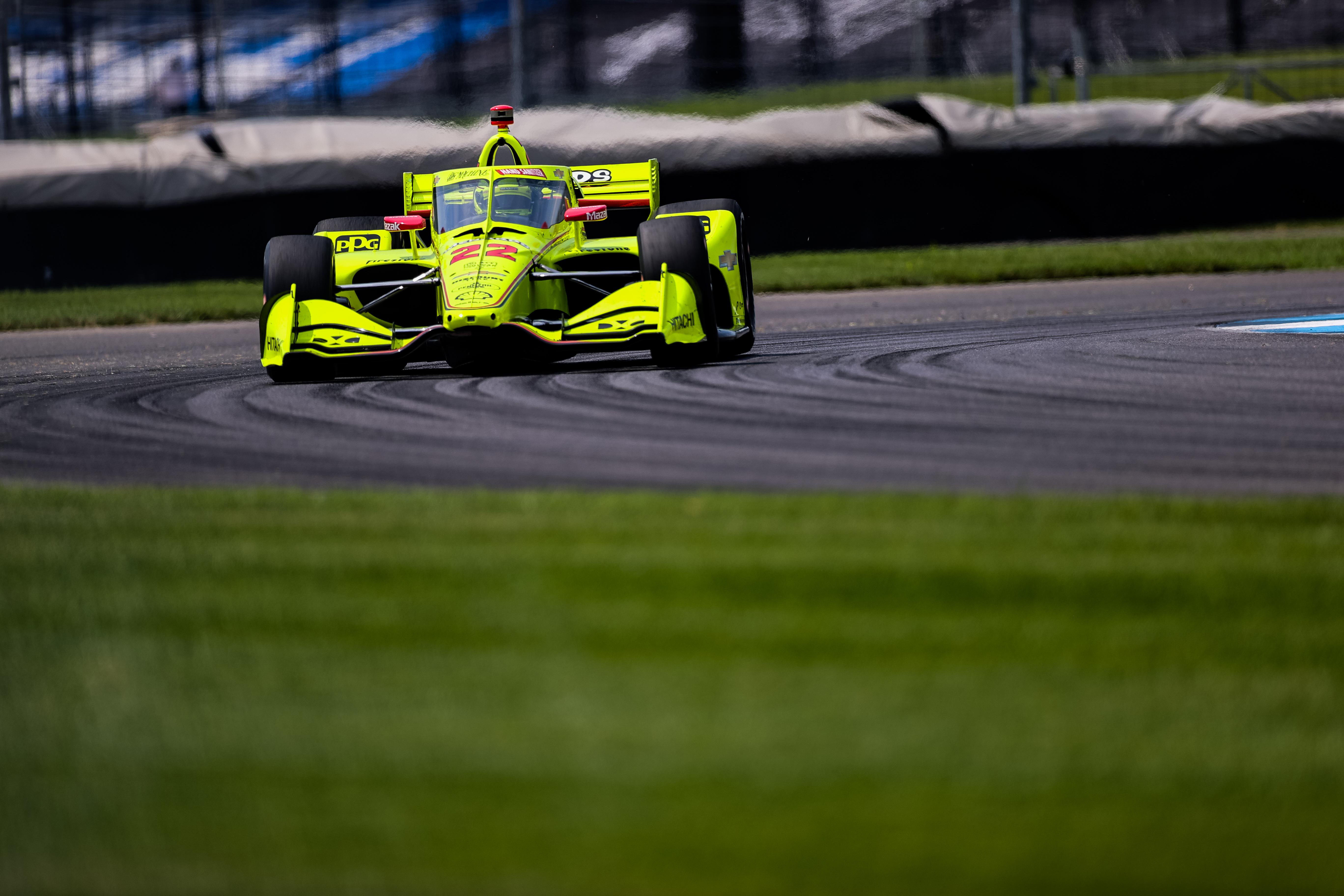 Simon Pagenaud Penske Indianapolis IndyCar 2020