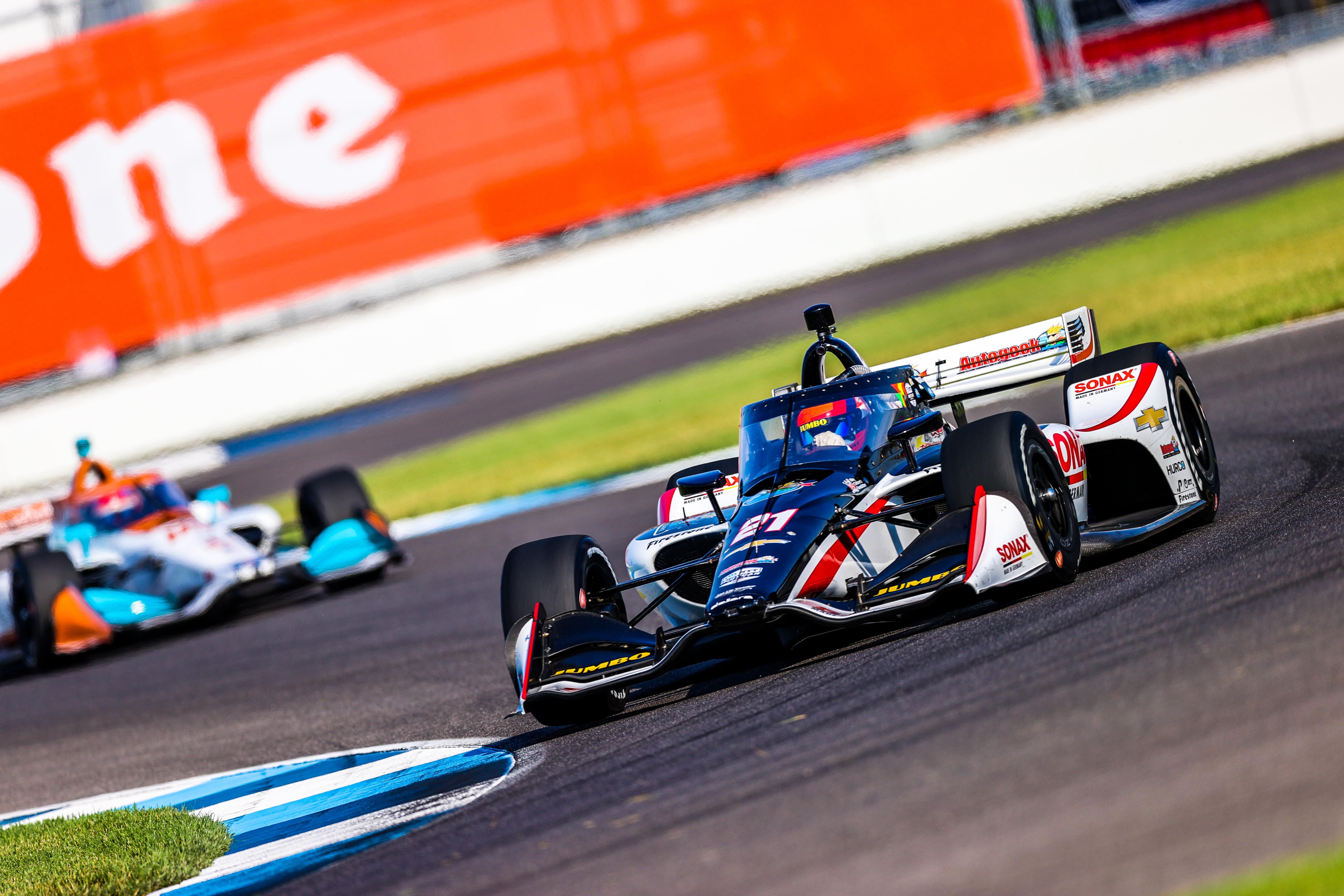 Rinus VeeKay Indianapolis IndyCar 2020