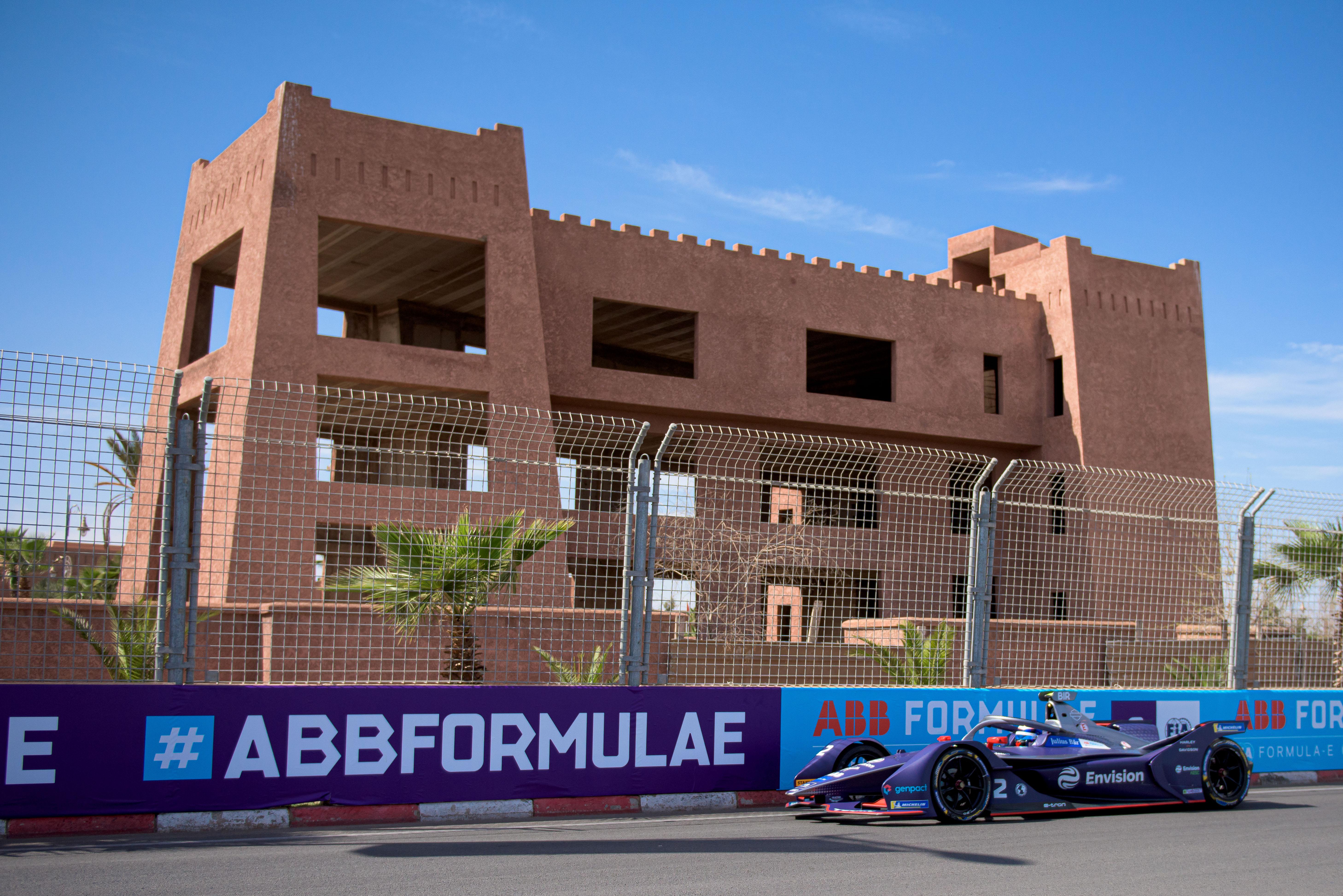 Sam Bird Marrakesh Formula E 2020