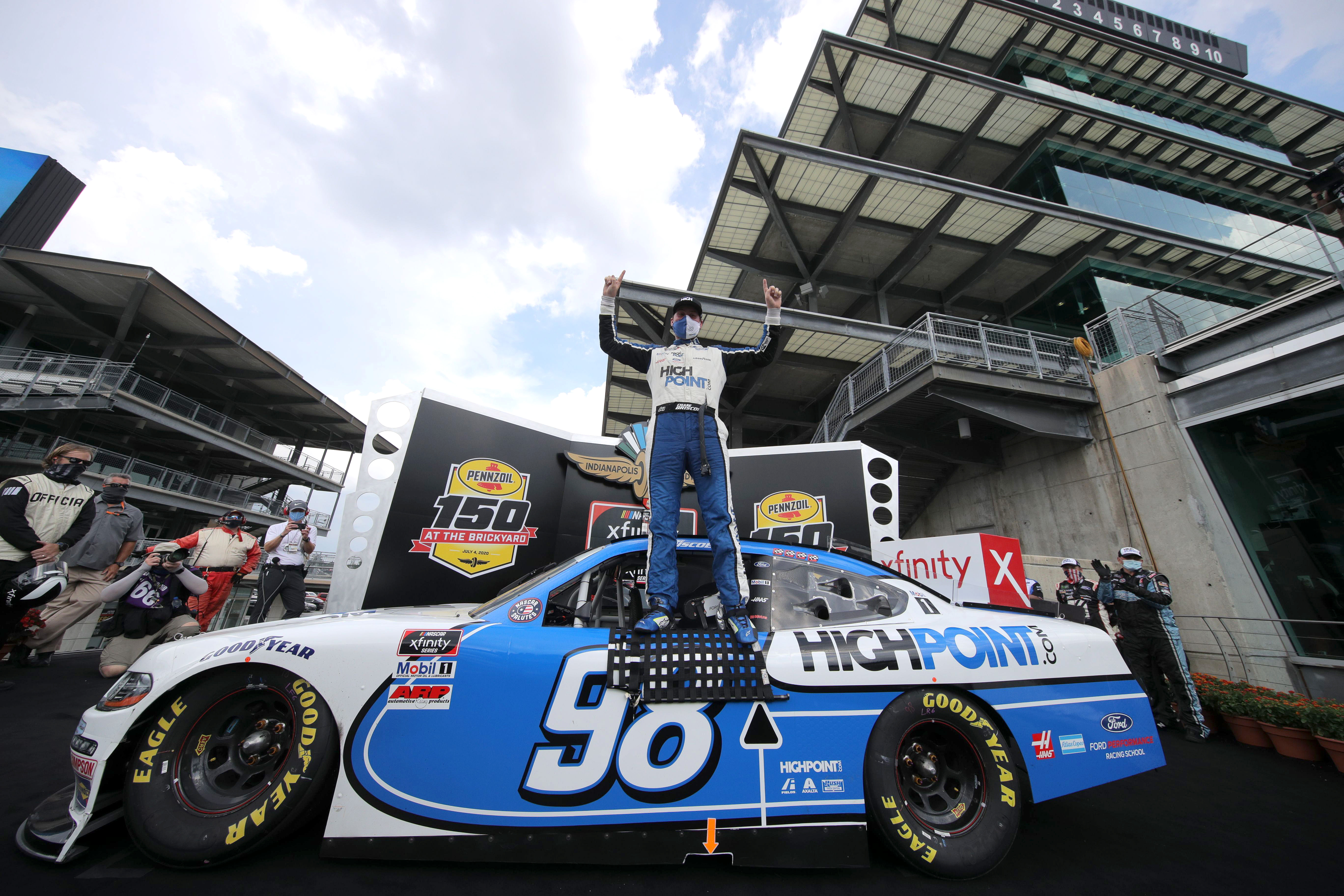 Nascar Xfinity Series Pennzoil 150 At The Brickyard