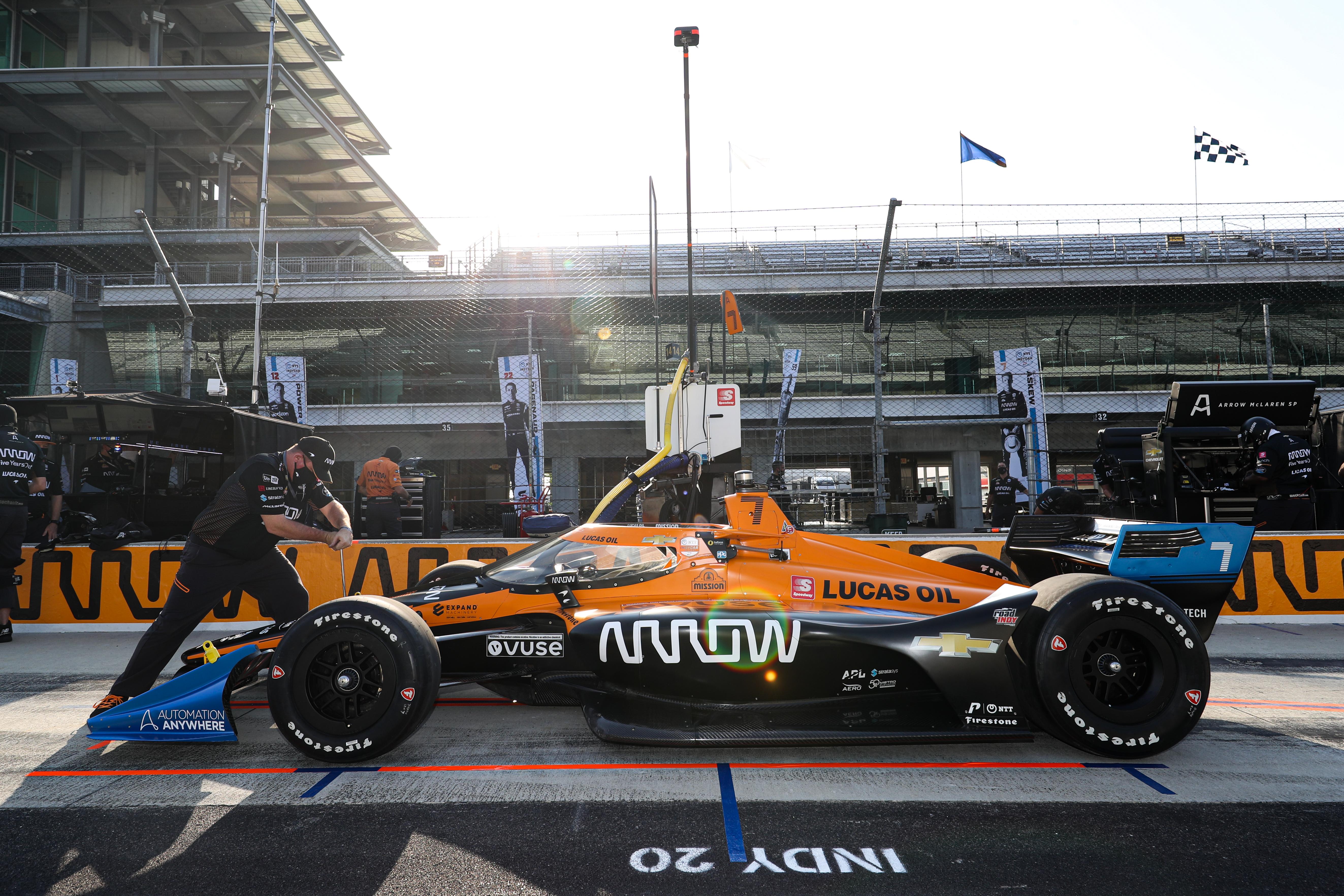 Arrow McLaren SP IndyCar