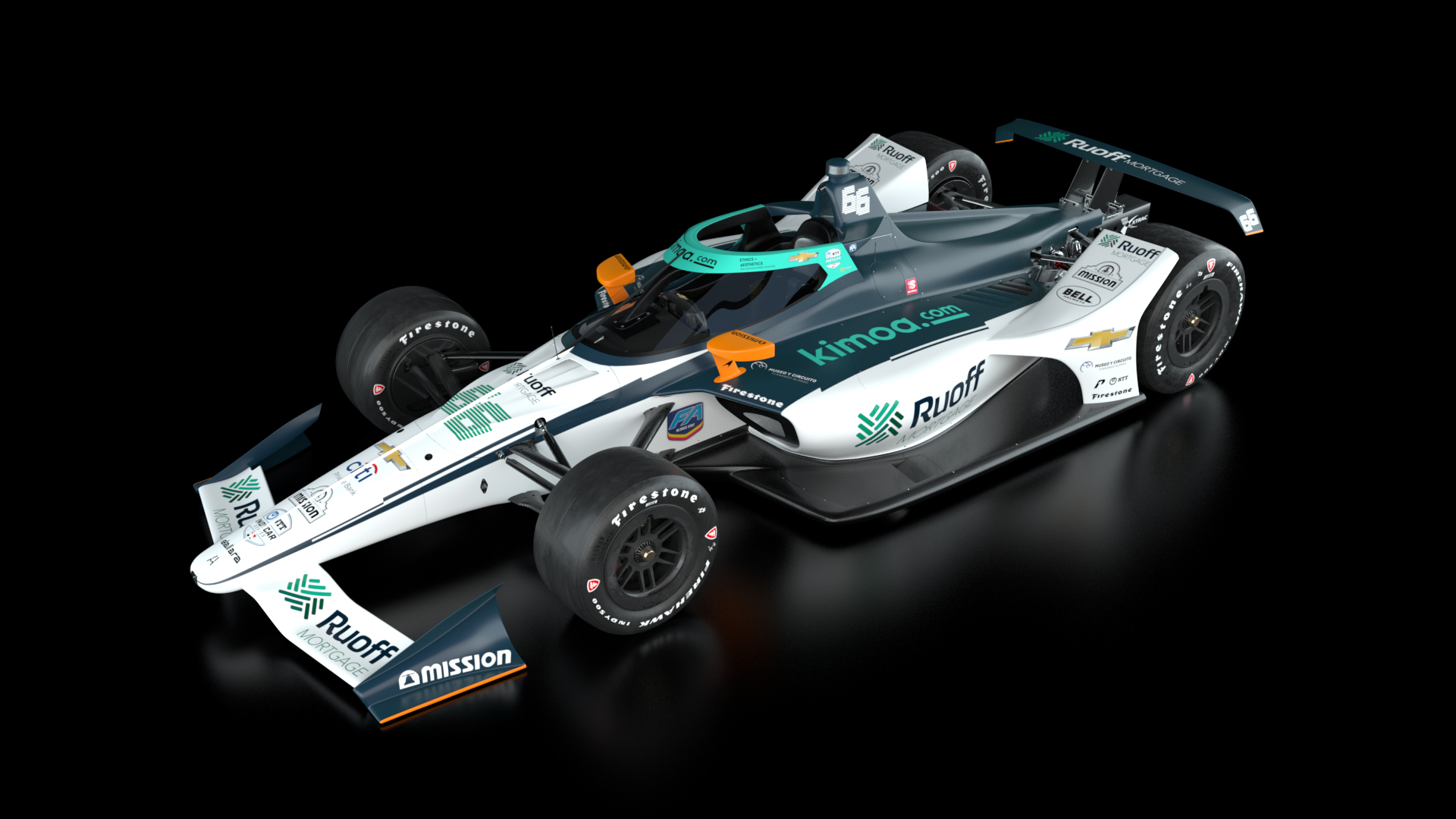 Fernando Alonso Indianapolis 500 livery 2020