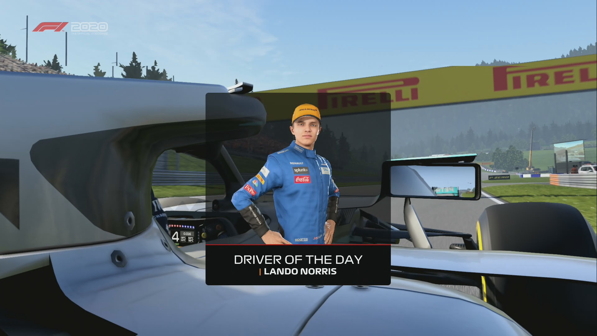 F1 2020 Norris Driver Of The Day