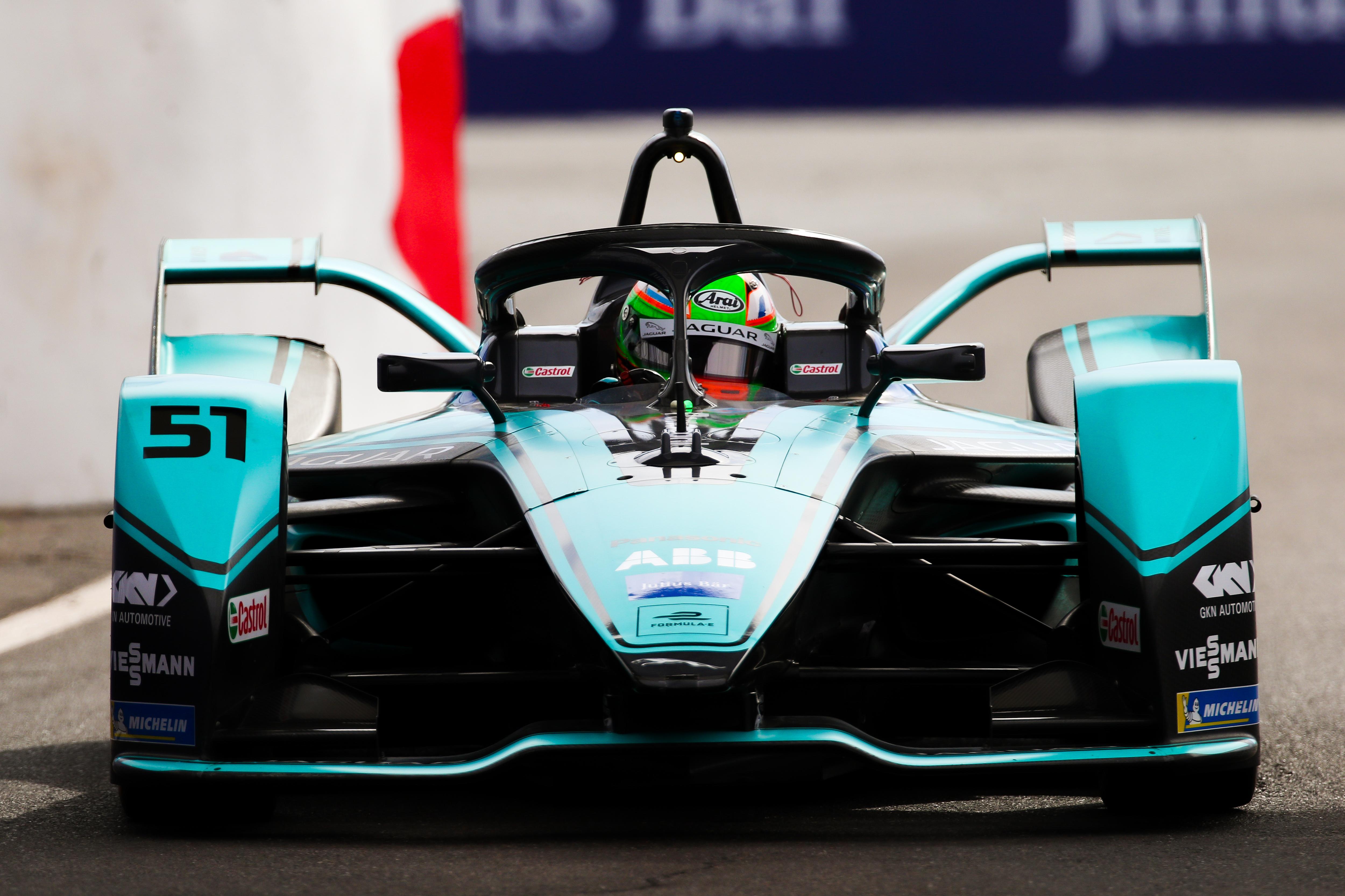 Mitch Evans Jaguar Formula E