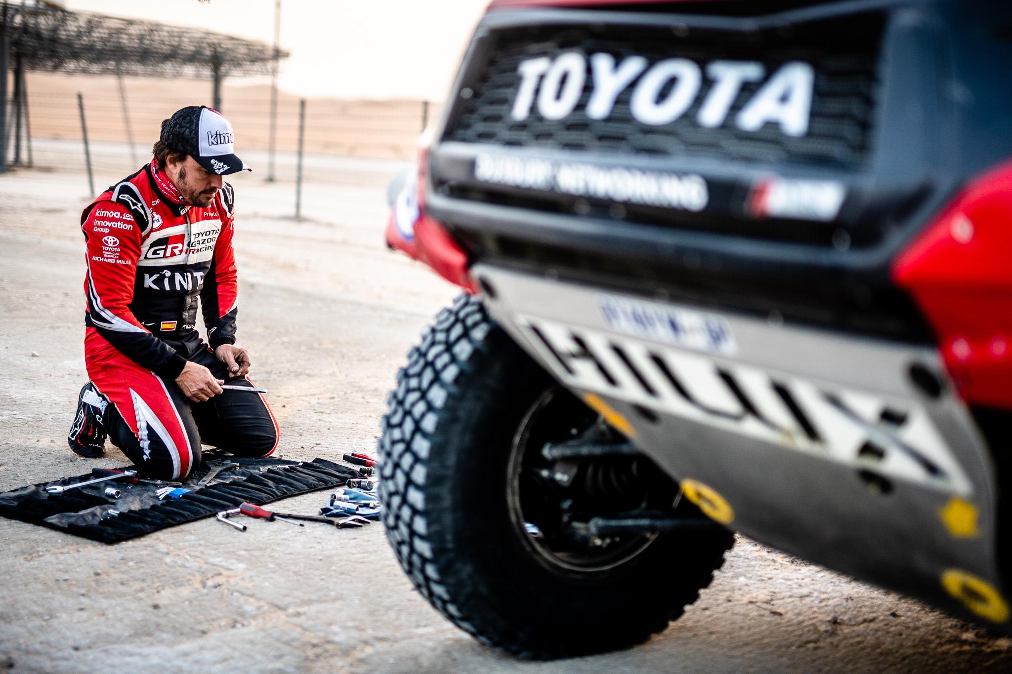 Fernando Alonso Dakar Rally 2020