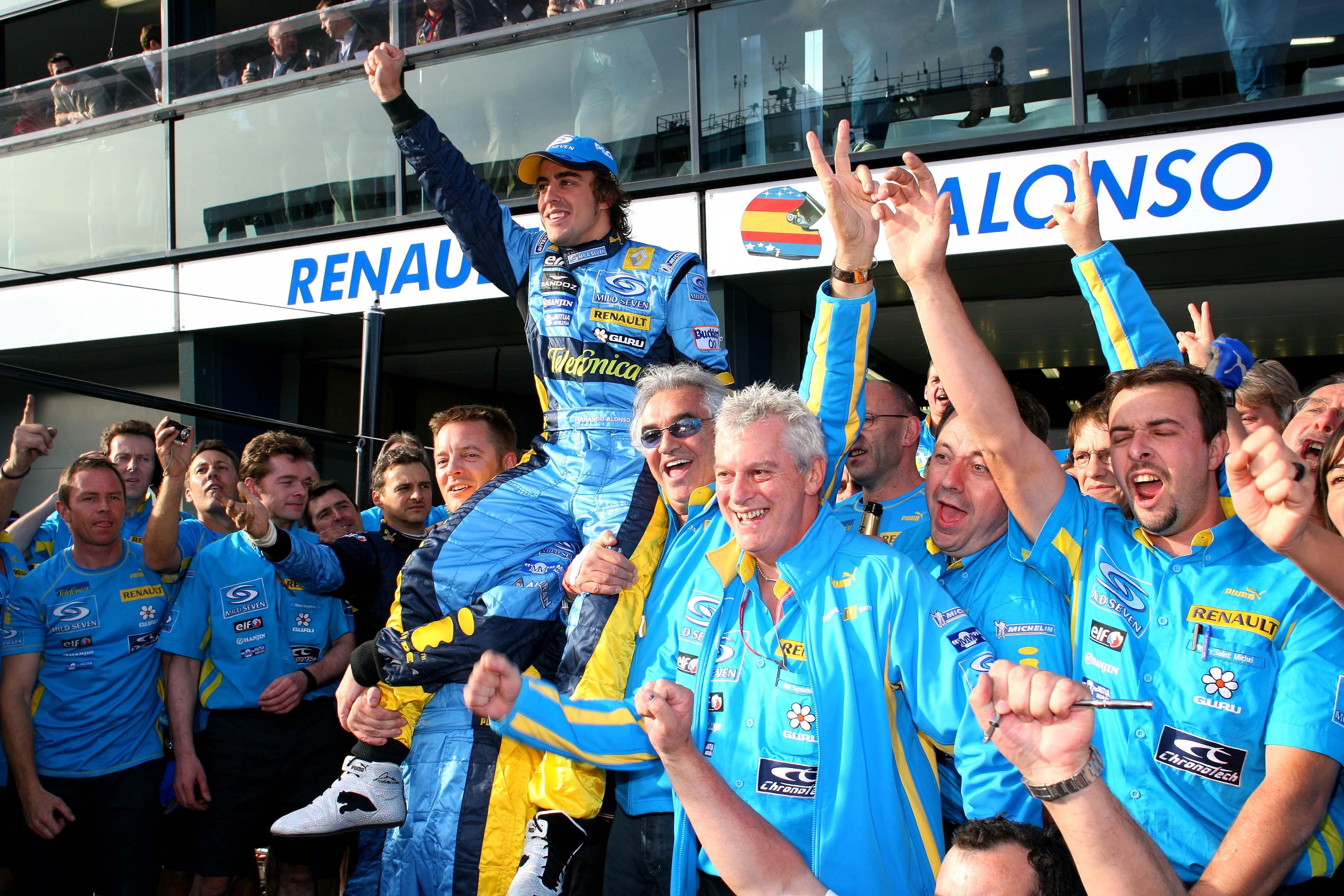 Fernando Alonso wins Australian Grand Prix 2006