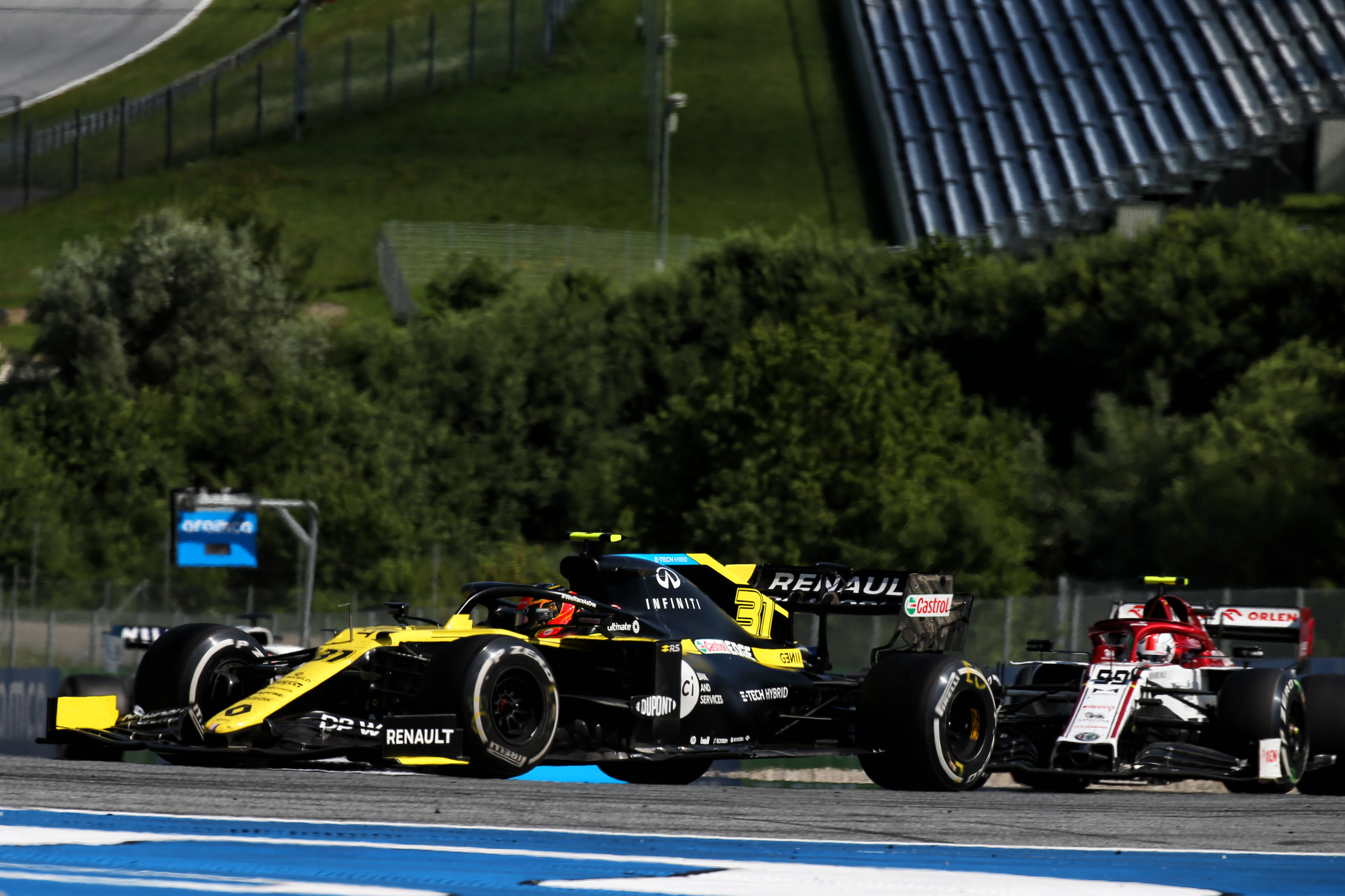 Esteban Ocon Renault Austrian Grand Prix 2020