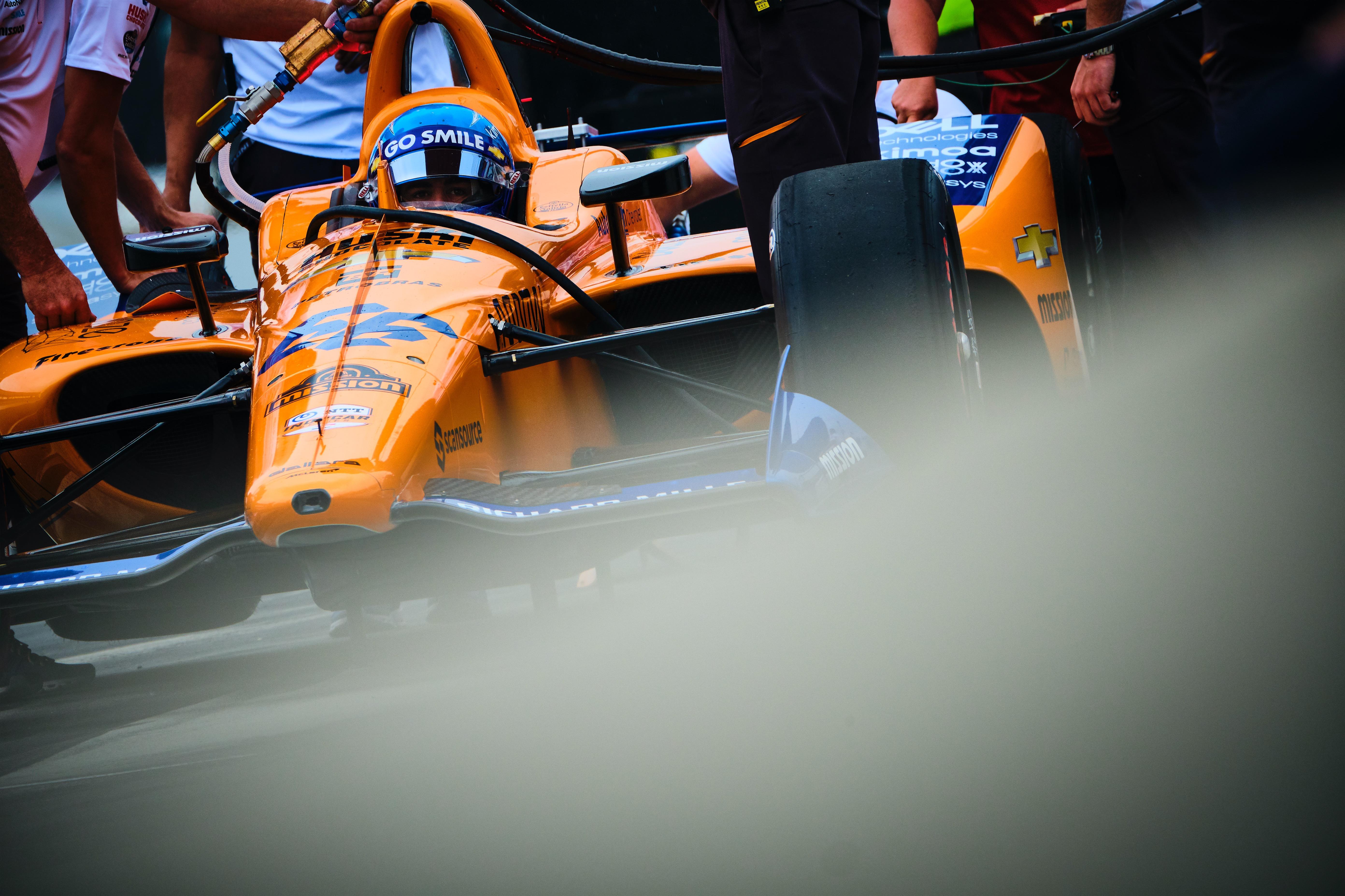 Fernando Alonso Indianapolis 500 2019
