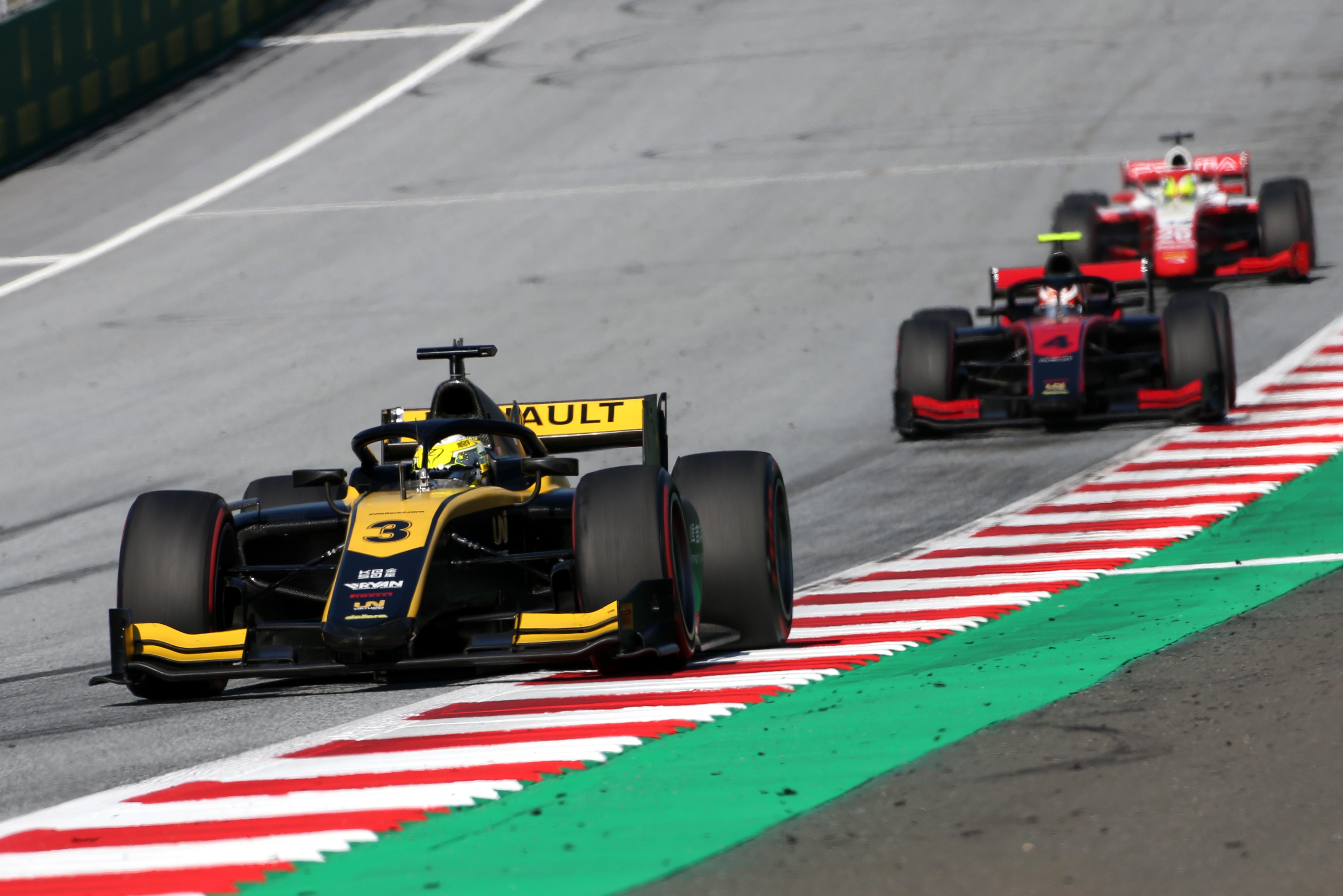 Guanyu Zhou Austria F2 2020