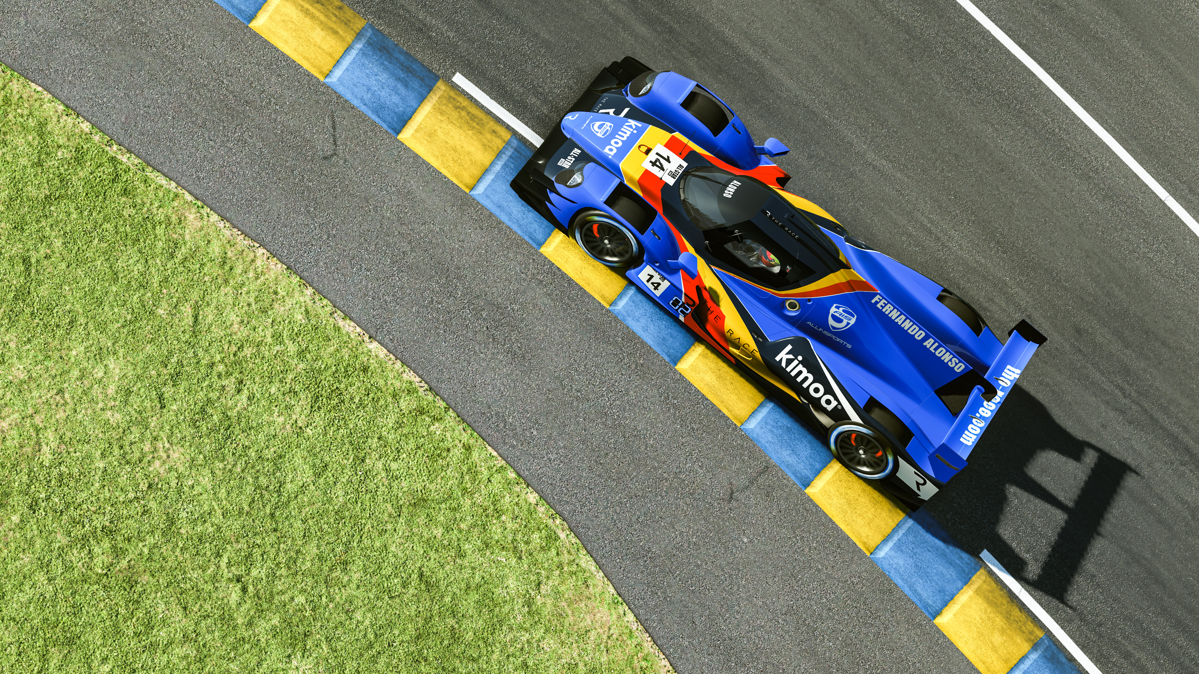 Fernando Alonso Le Mans esports Legends Trophy 2020