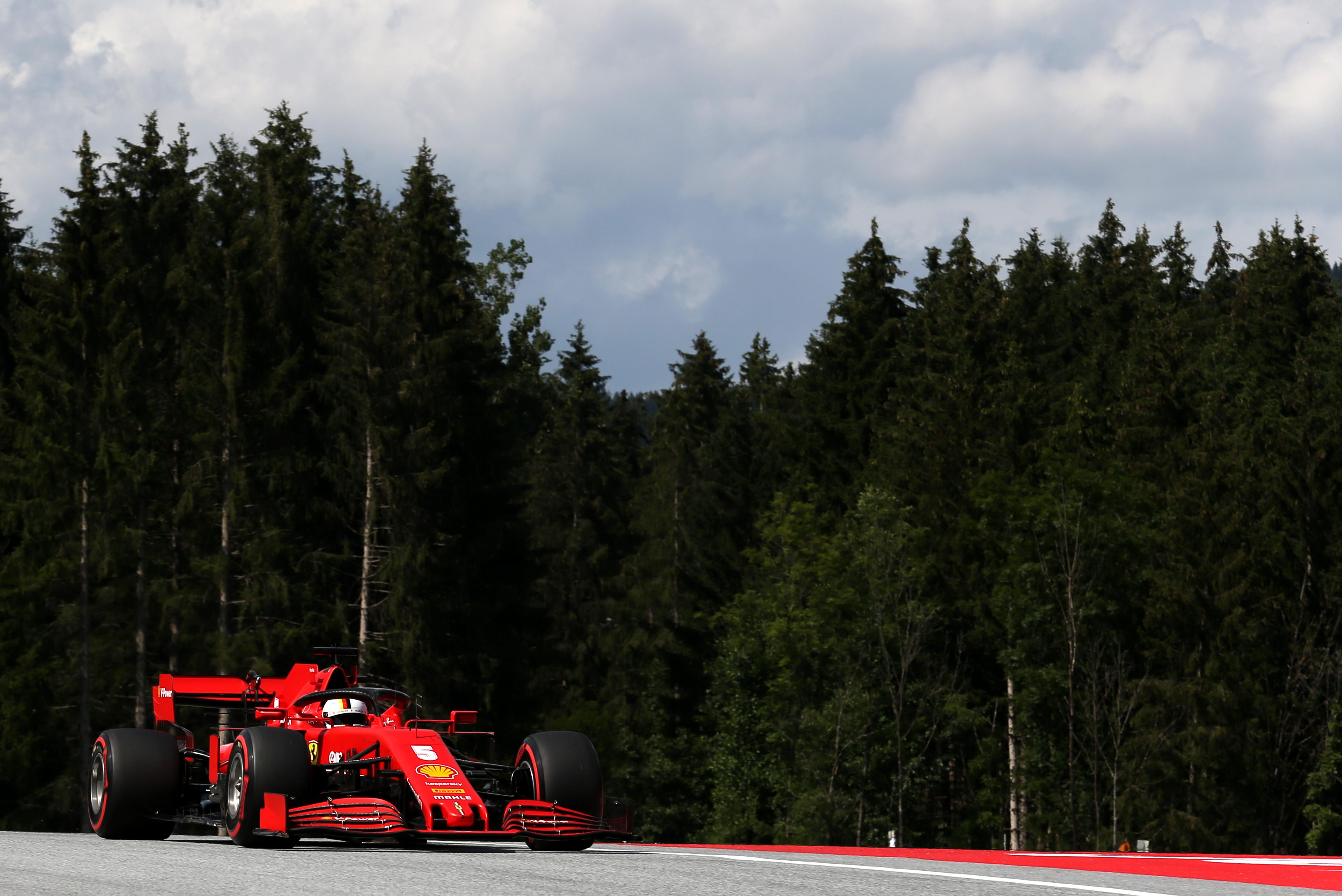 Sebastian Vettel Ferreri Styrian Grand Prix 2020