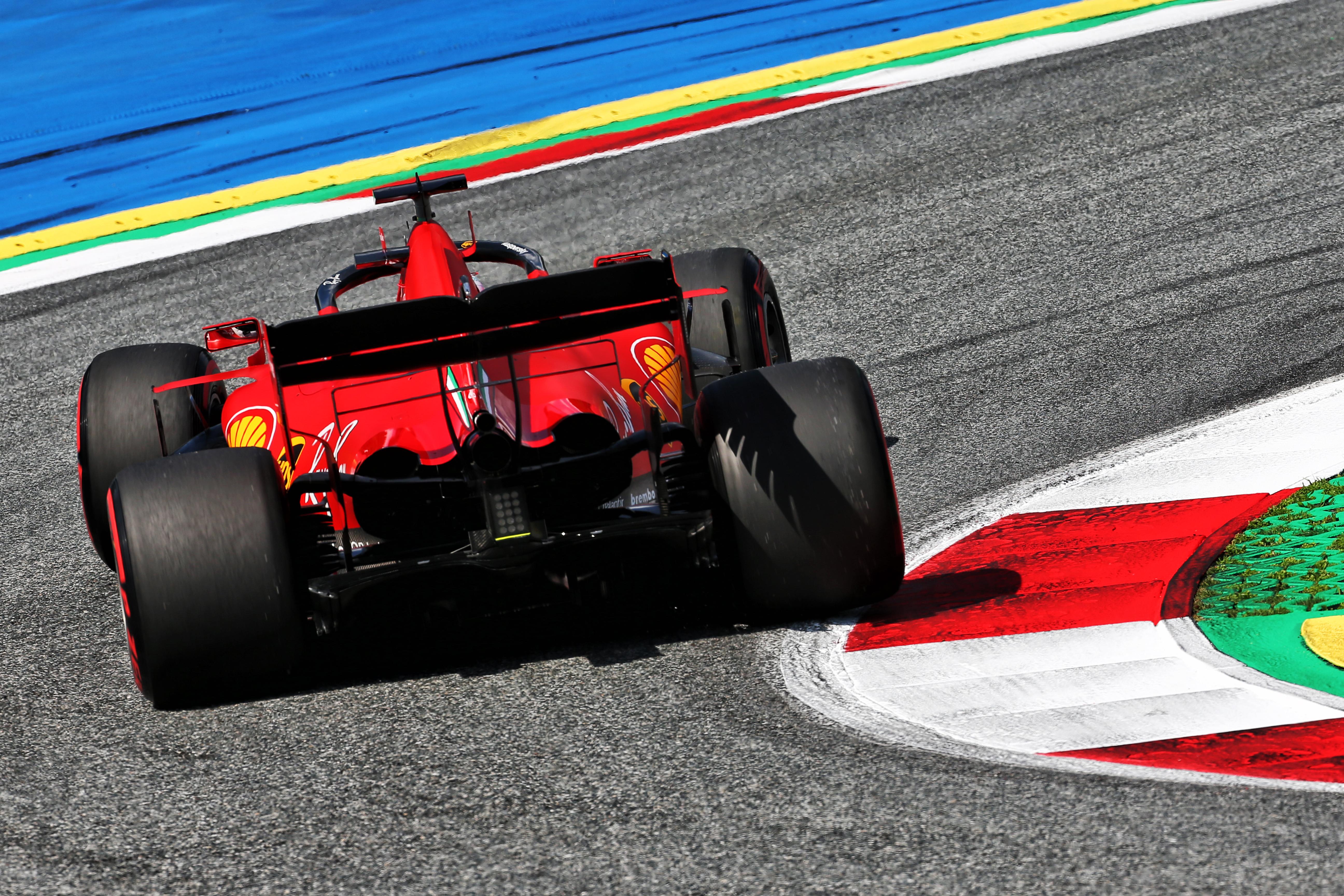 Sebastian Vettel Ferrari Styrian Grand Prix practice 2020