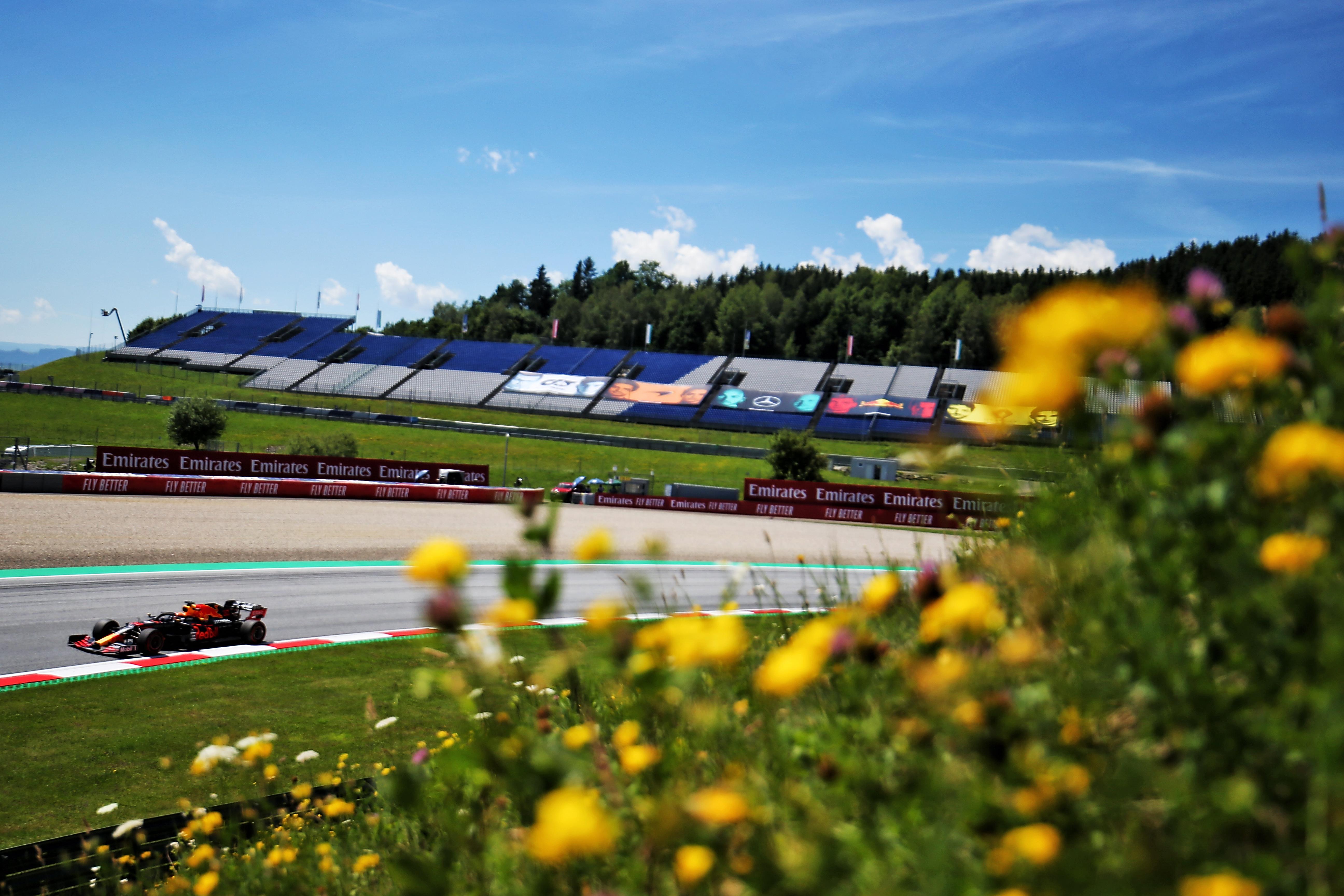 Max Verstappen Red Bull Styrian Grand Prix practice 2020