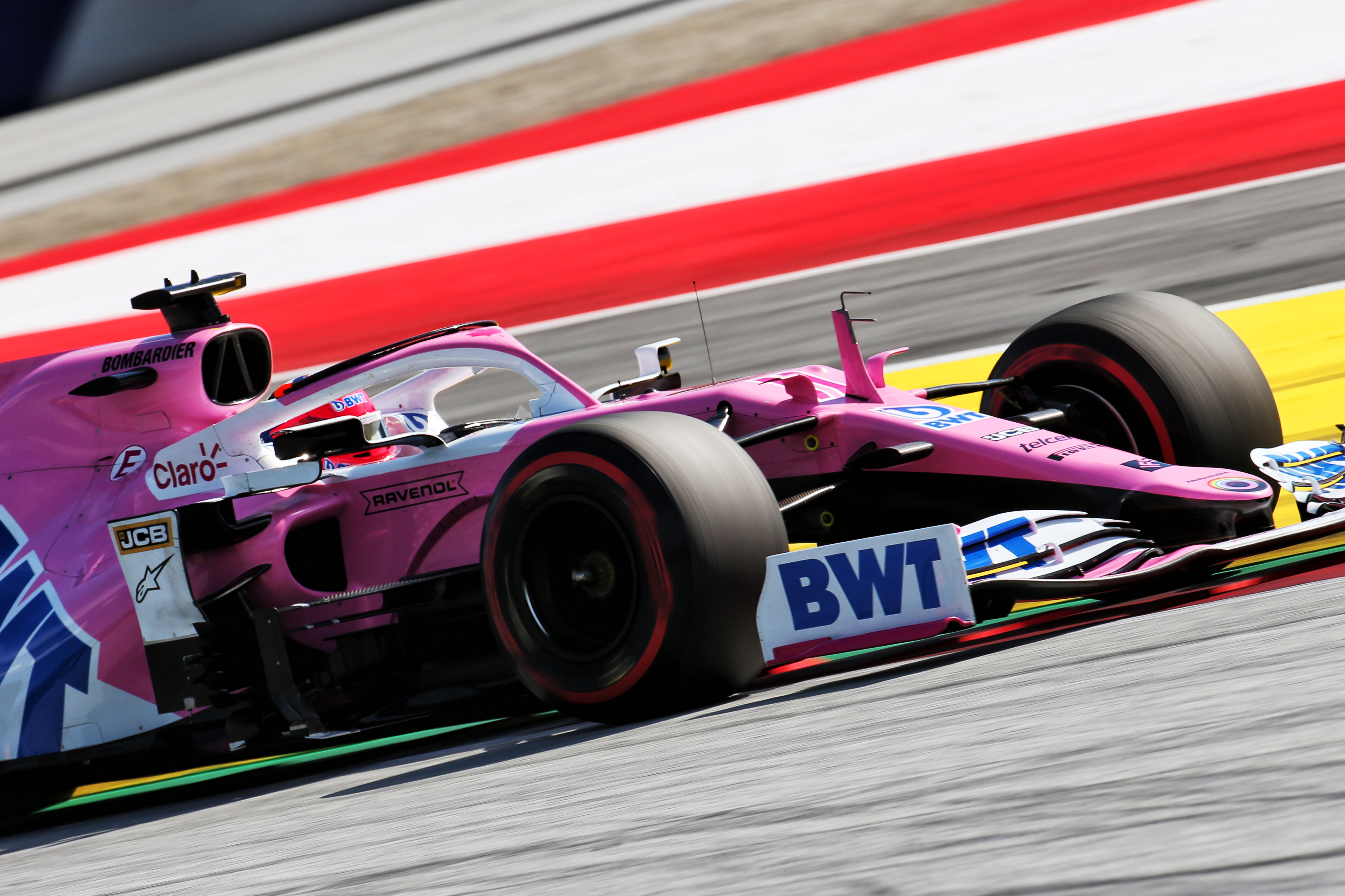 Sergio Perez Racing Point Styrian Grand Prix 2020