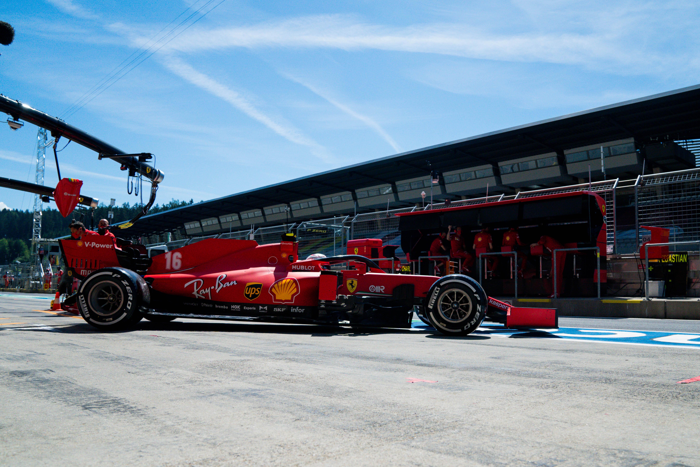 Charles Leclerc Ferrari Styrian Grand Prix practice 2020