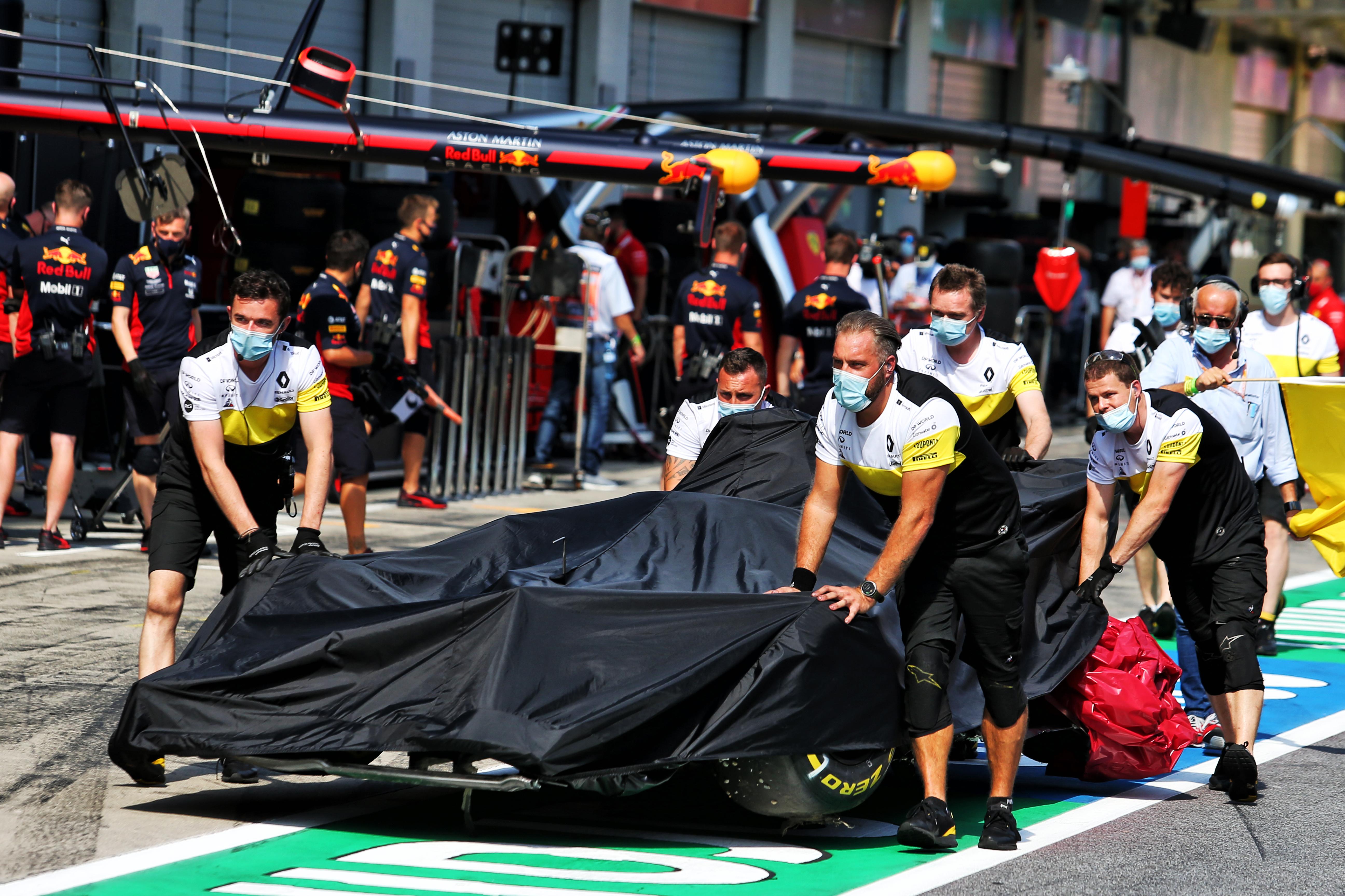 Daniel Ricciardo damage Styrian Grand Prix practice 2020