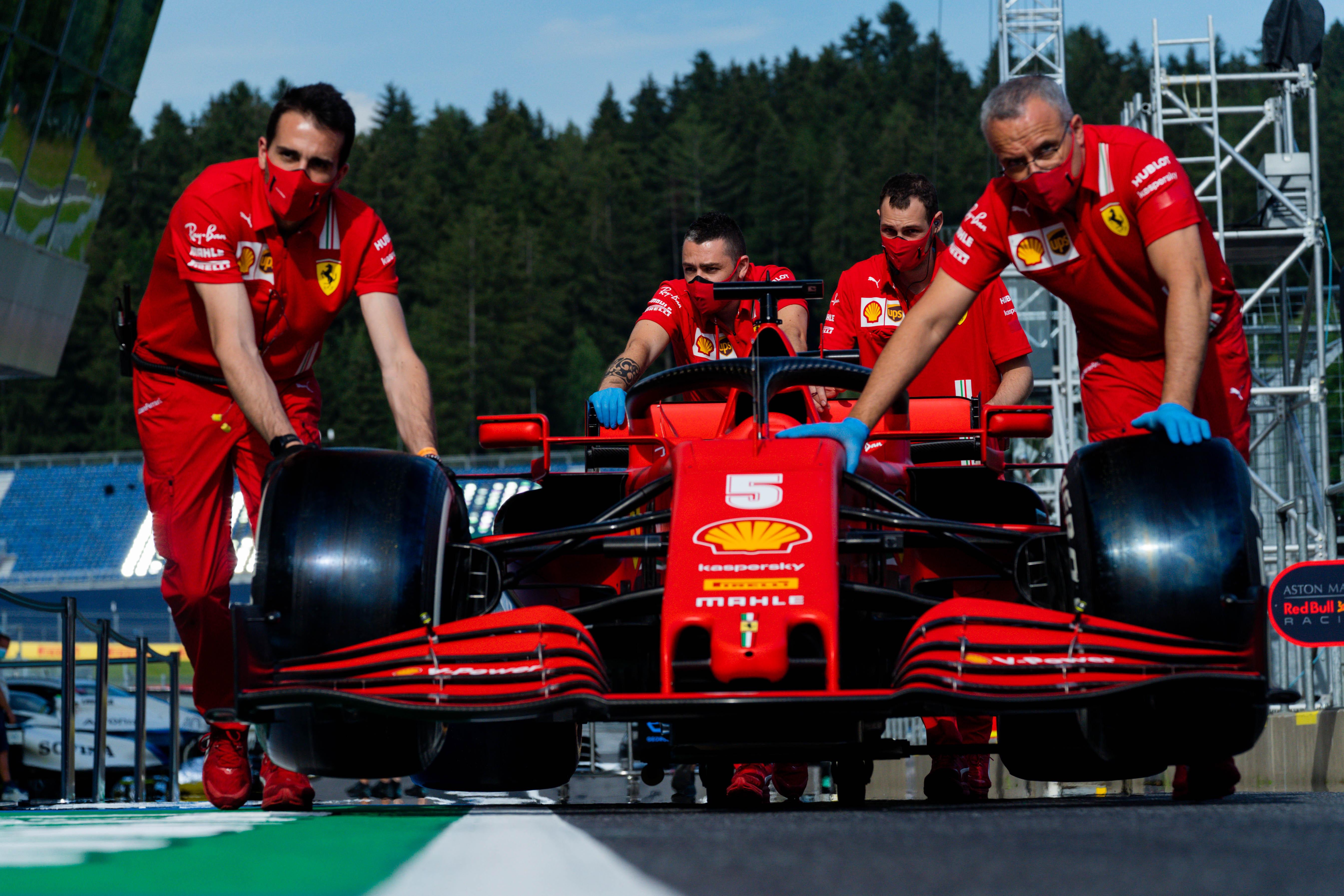 Ferrari Austria 2020